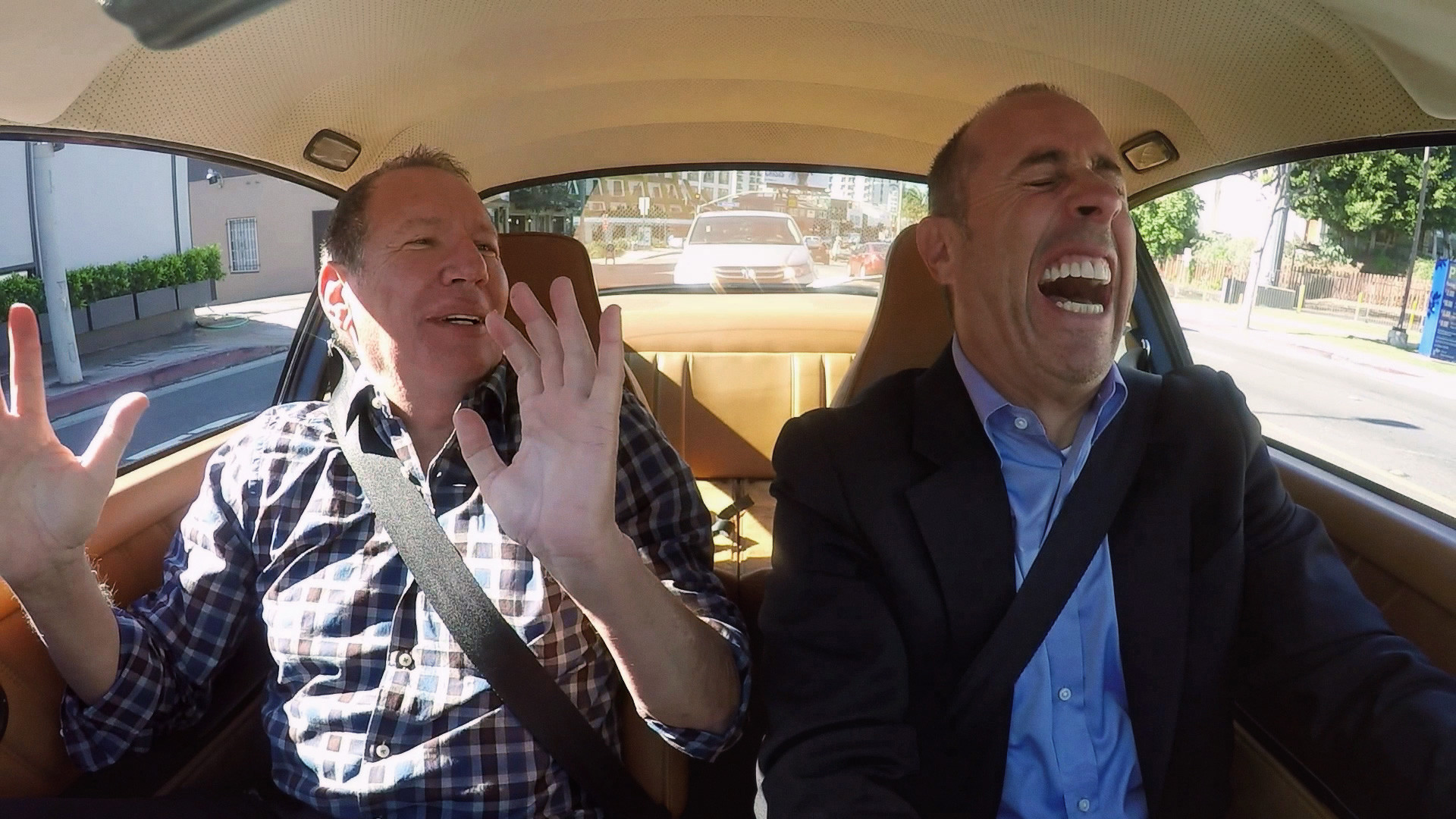 Why 'Comedians In Cars' Could Drive Straight Into An Emmy