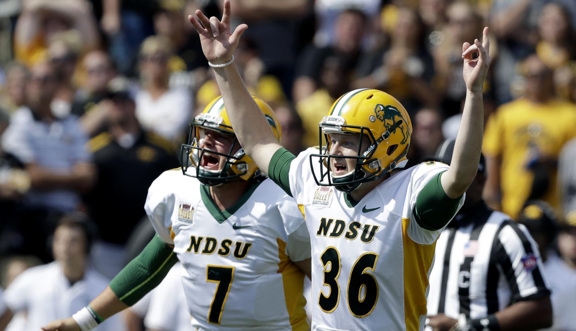 North Dakota State's 'upset' over Iowa is business as ...