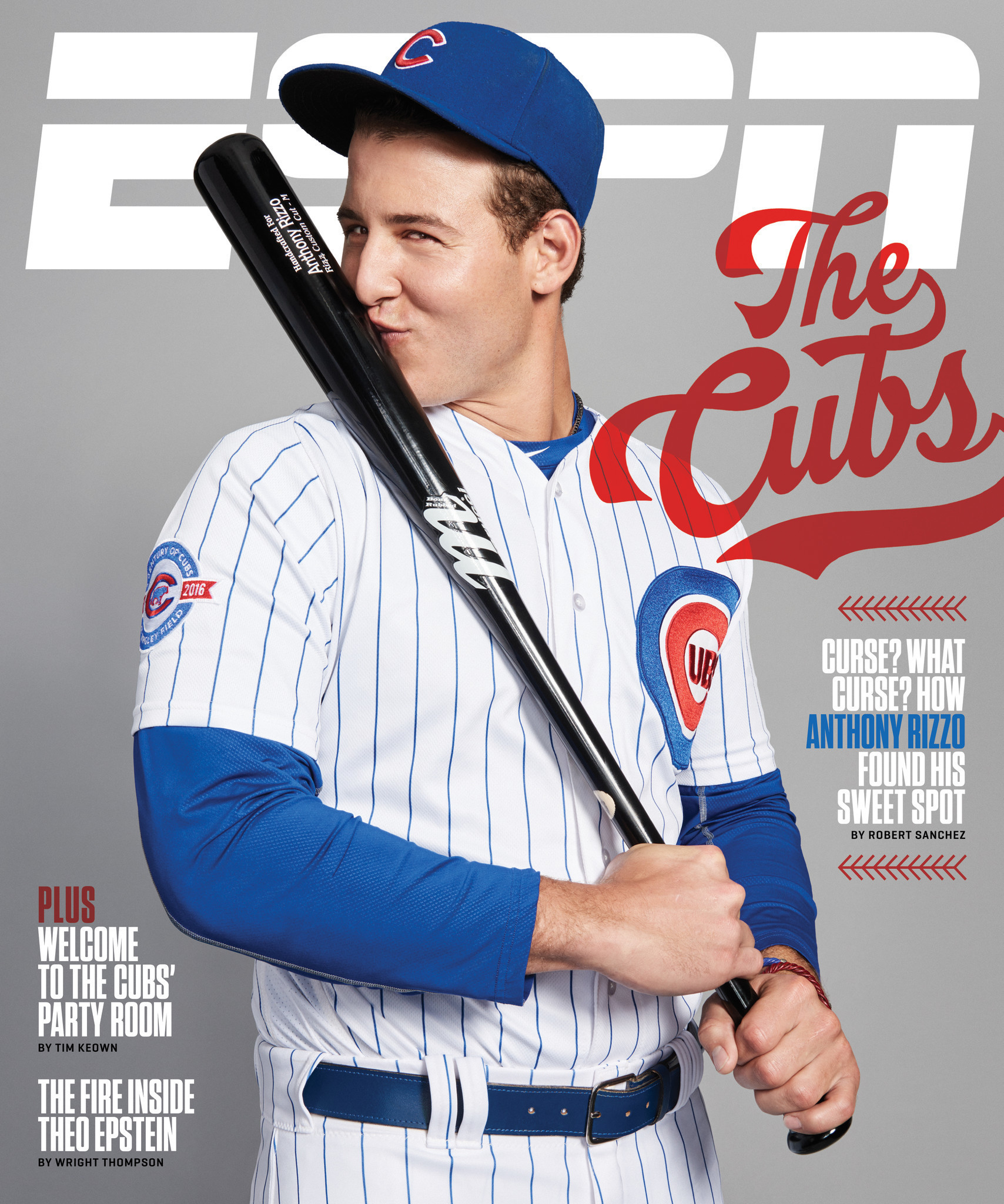 88ed6043d3d Anthony Rizzo covers this week s ESPN The Magazine - Chicago Tribune