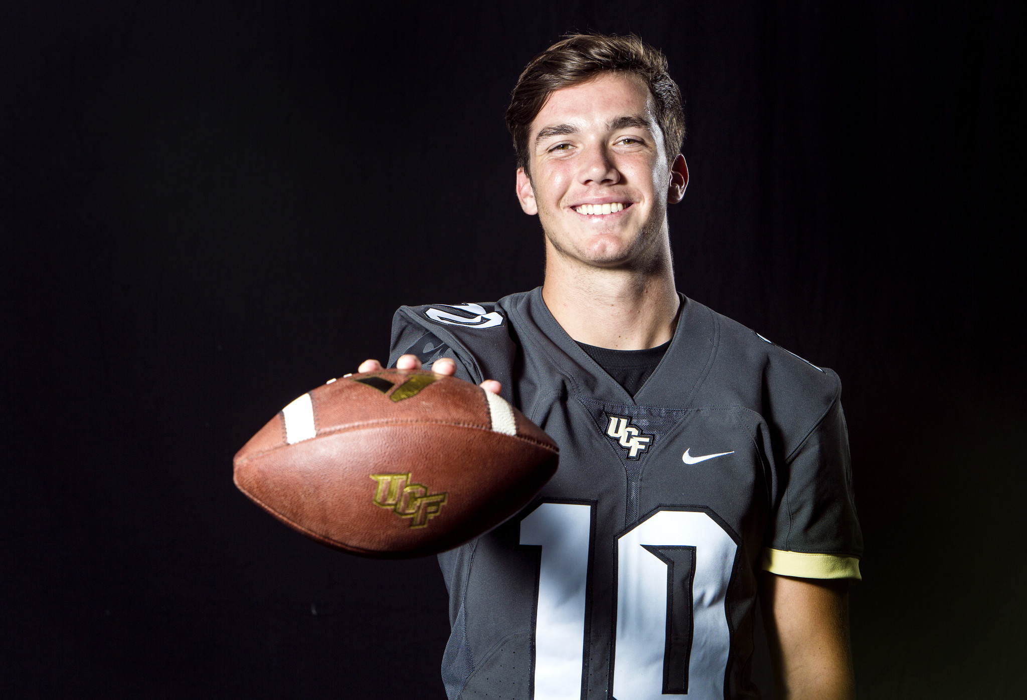 the latest 47510 46cd1 McKenzie Milton chats about being named starting UCF ...