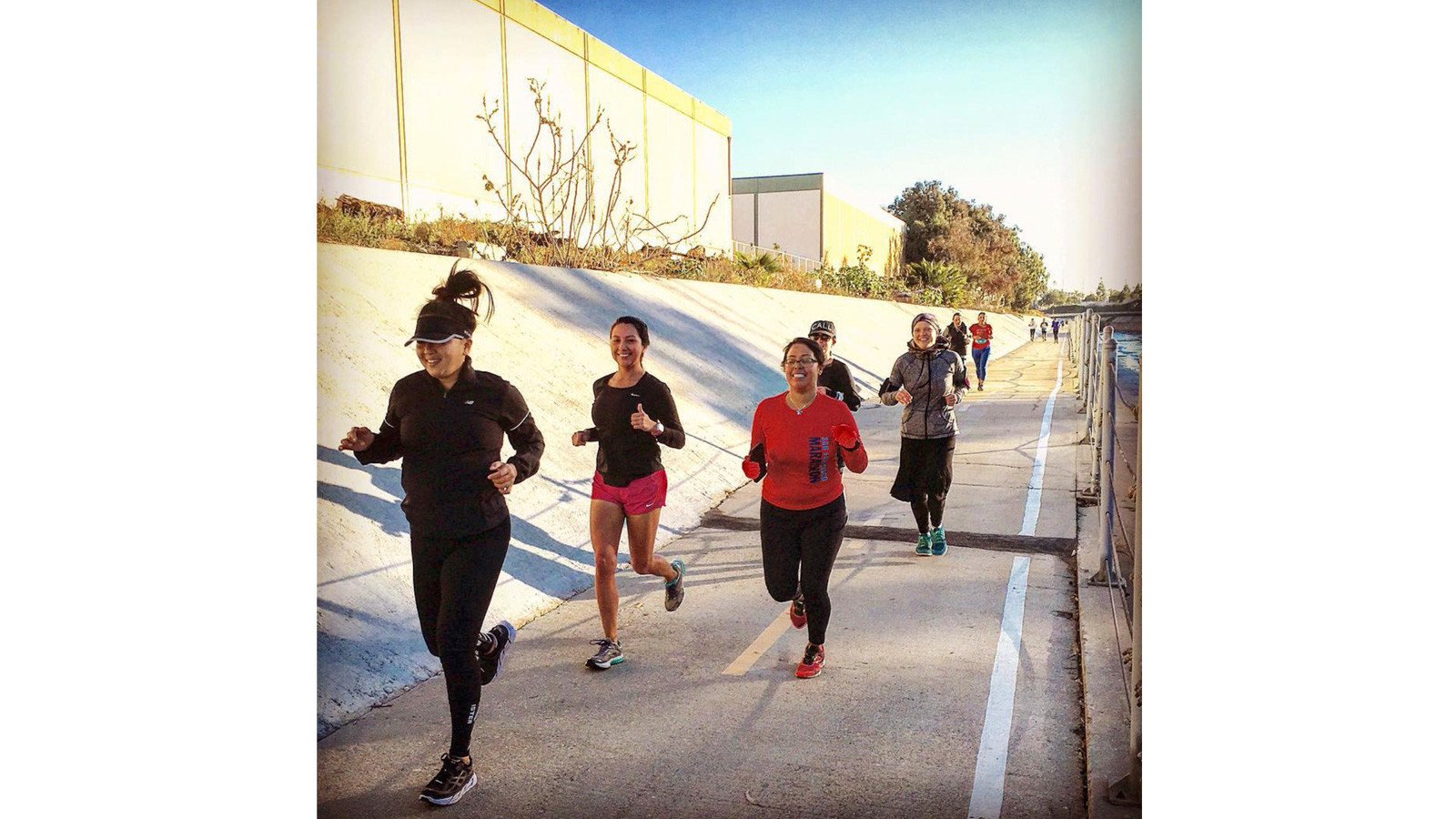 Follow @unitedla to find group runs in Southern California.