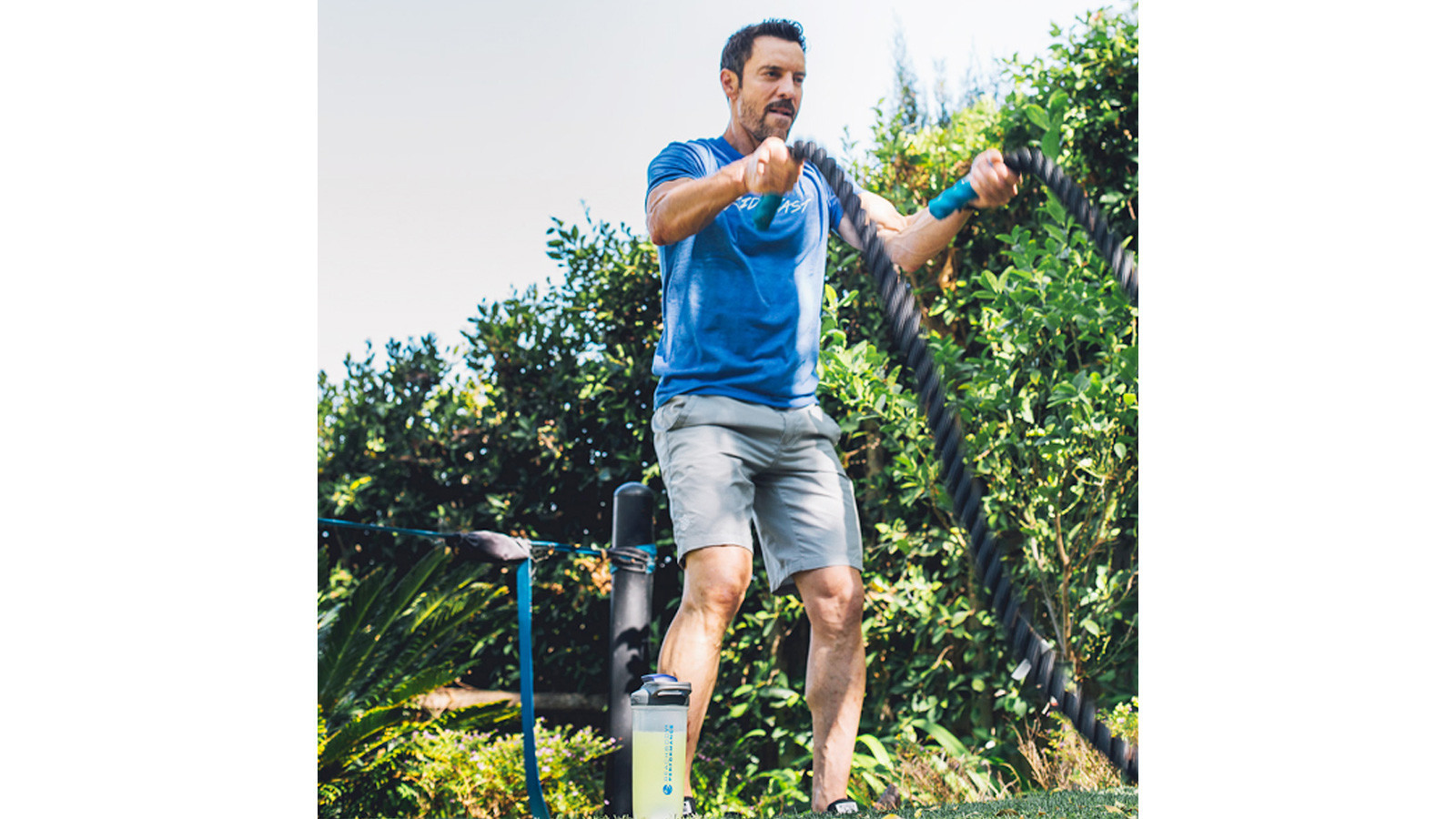 Tony Horton is the P90X creator and a master trainer.