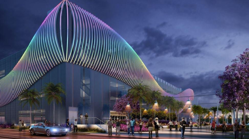 Fort Lauderdale Adds Glitz To Its Planned Beach Parking Garage Sun Sentinel