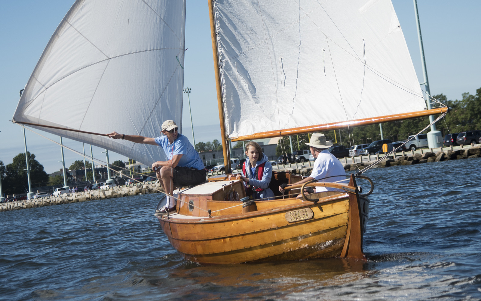 Classic Wooden Sailboat Rendezvous Race Capital Gazette