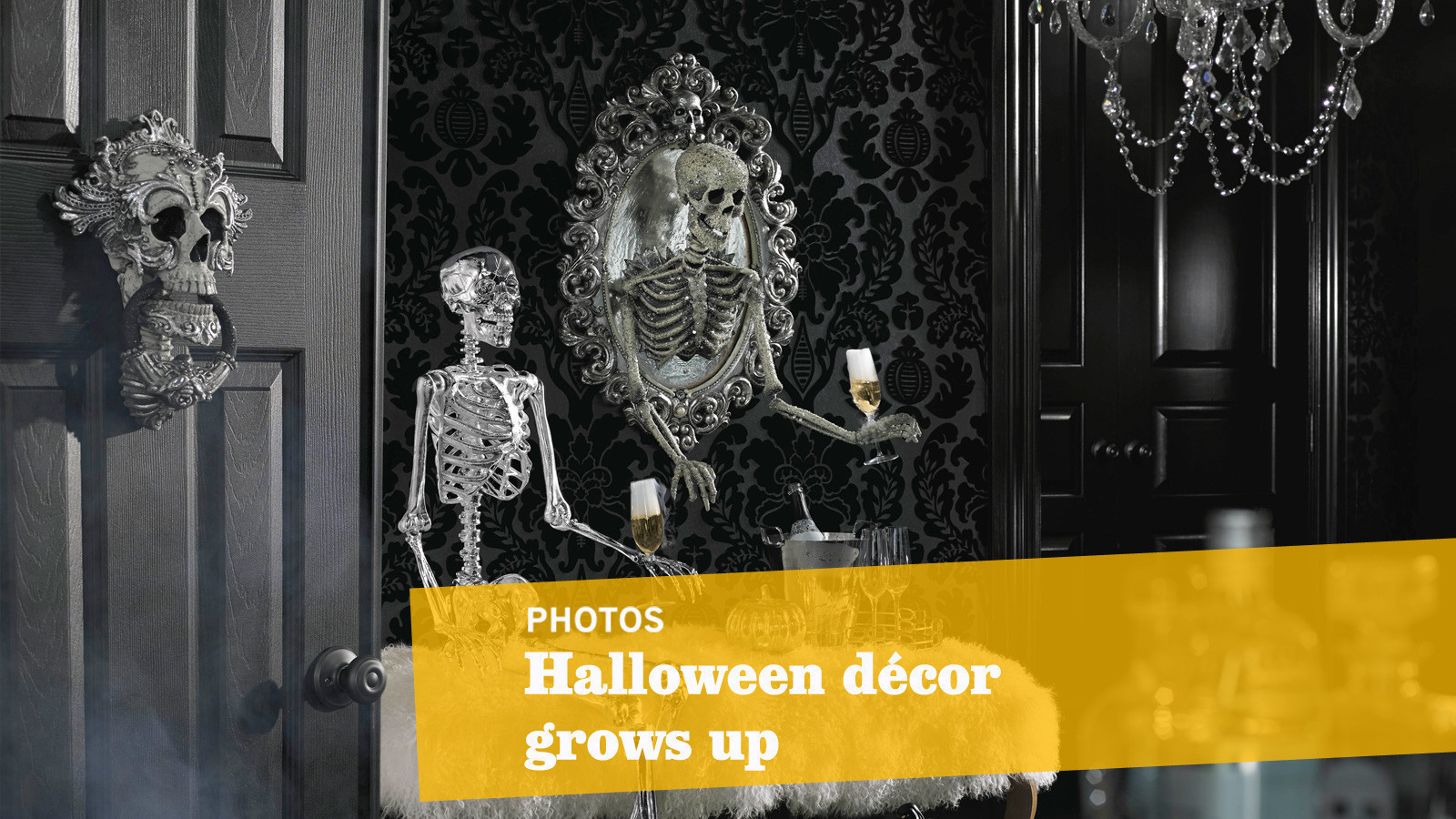 Upscale Home Decor Catalogs Halloween Decor Can Be Scary Yet Sophisticated Here S How