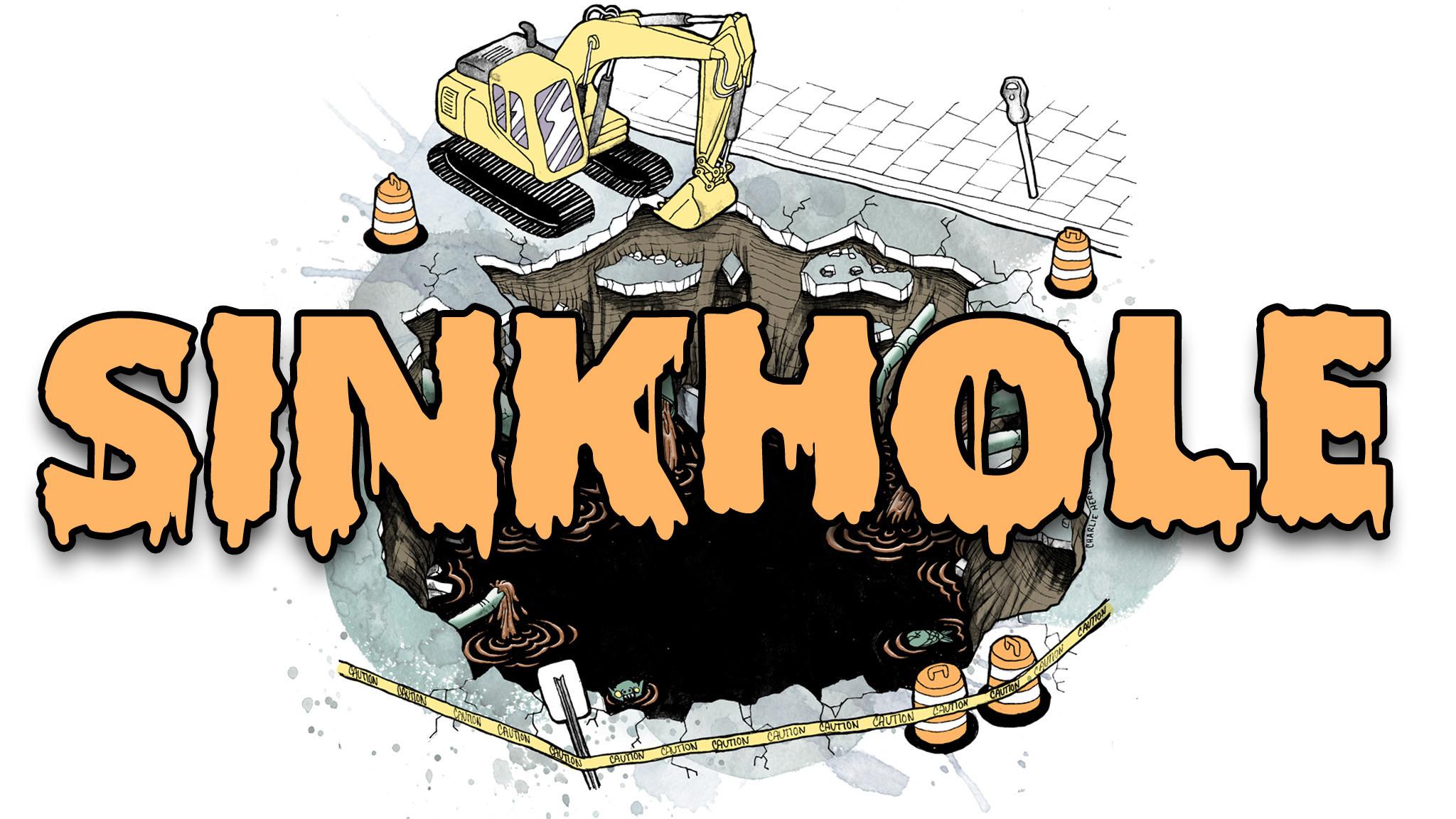 Clip Art Story Sinkhole: What i...