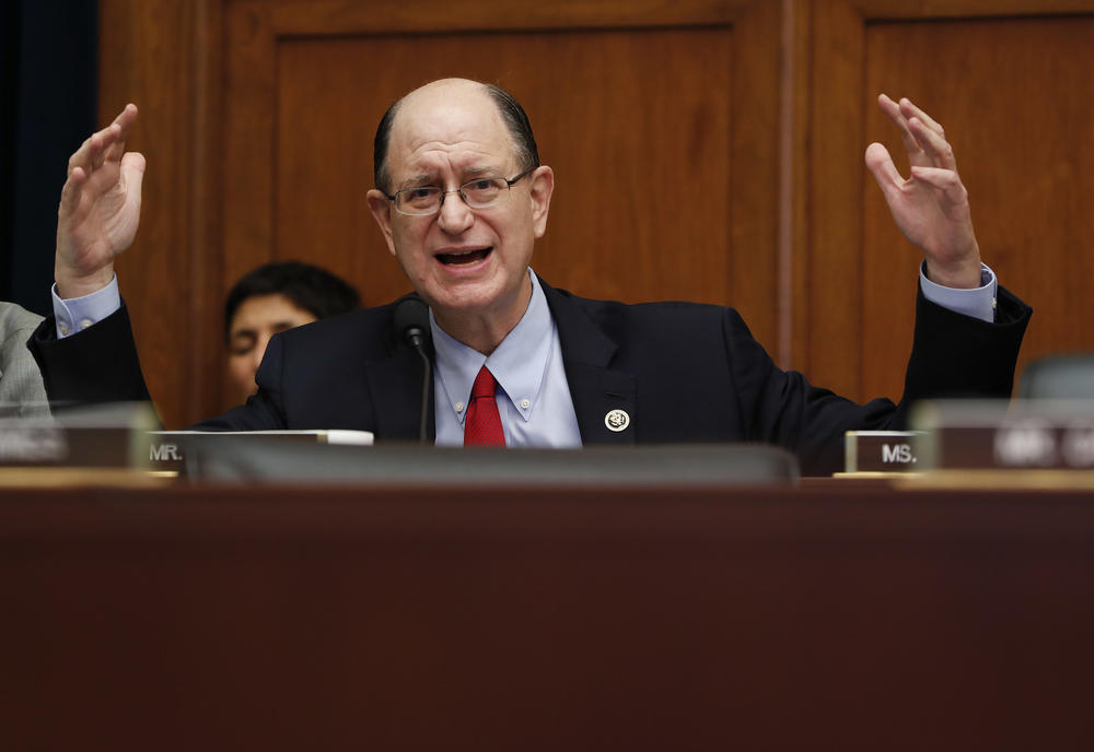 Rep. Brad Sherman on Sept. 28. (Pablo Martinez Monsivais / Associated Press)