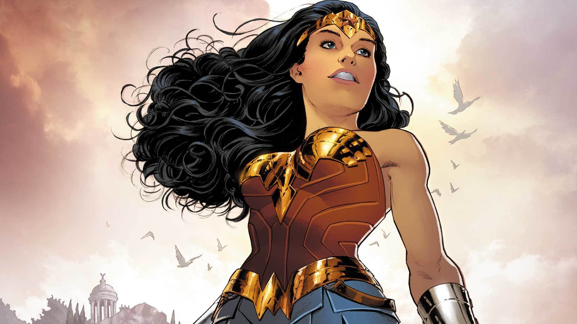 """The cover for """"Wonder Woman"""" No. 4 by Nicola Scott."""