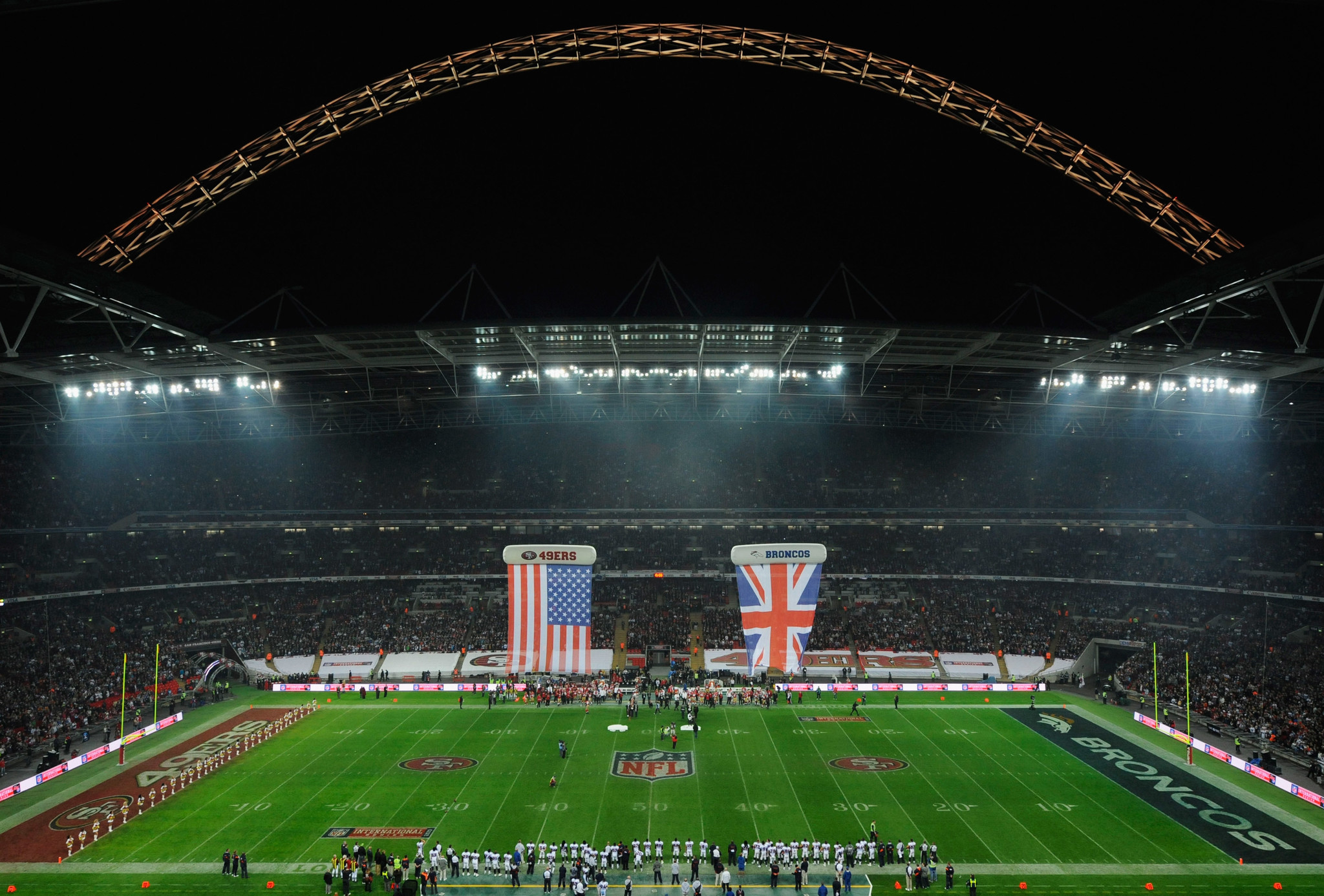 NFL games in London sell out every time and still lose money  Chicago Tribune