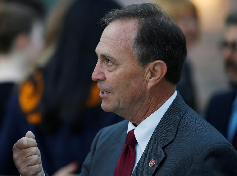 Rep. Ed Perlmutter in Denver on Sept. 16. (David Zalubowski / Associated Press)