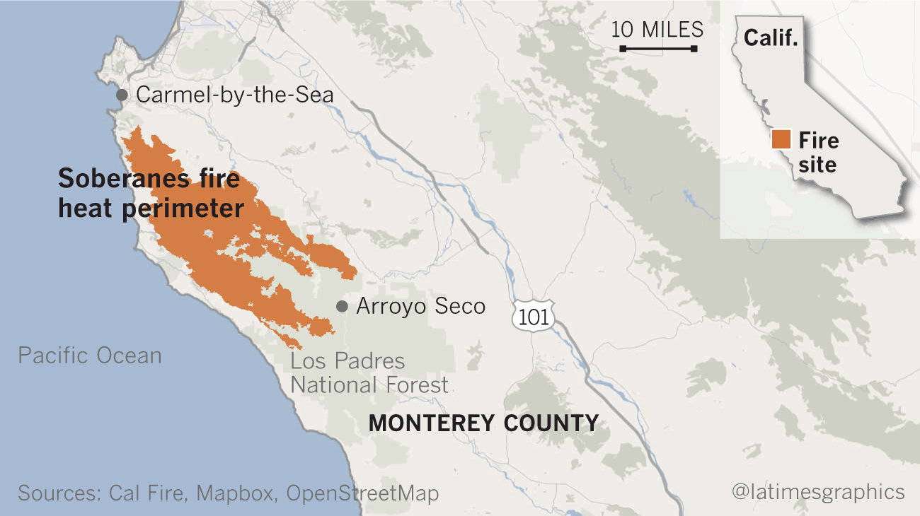 The Blaze That Won T Die How Monterey County Wildfire Became One Of