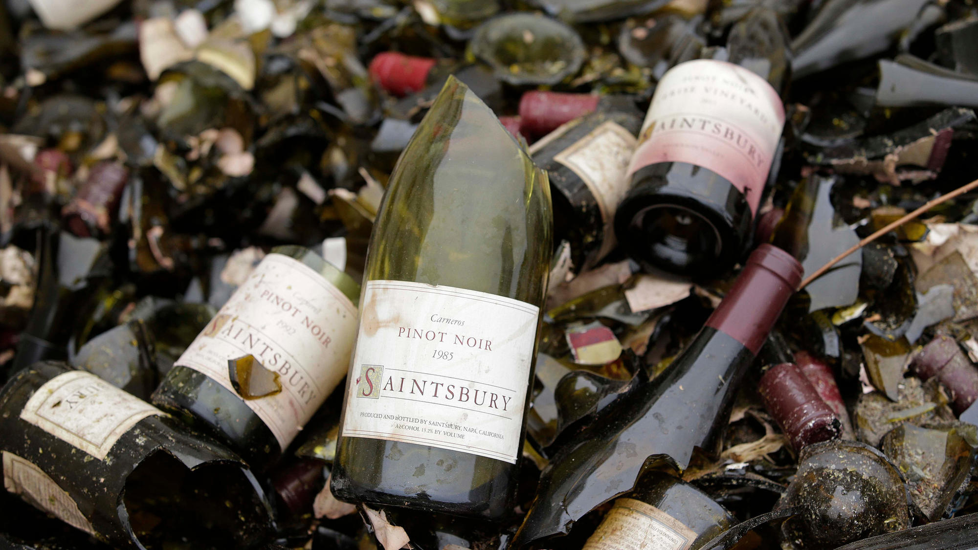 Get Ready For A Major Quake What To Do Before And During Big California Earthquakes 1 Turn Off Gas Vintage Bottles From The Wine Library At Saintsbury Winery In Napa Calif Are Tossed Bin After An August 2014 Temblor