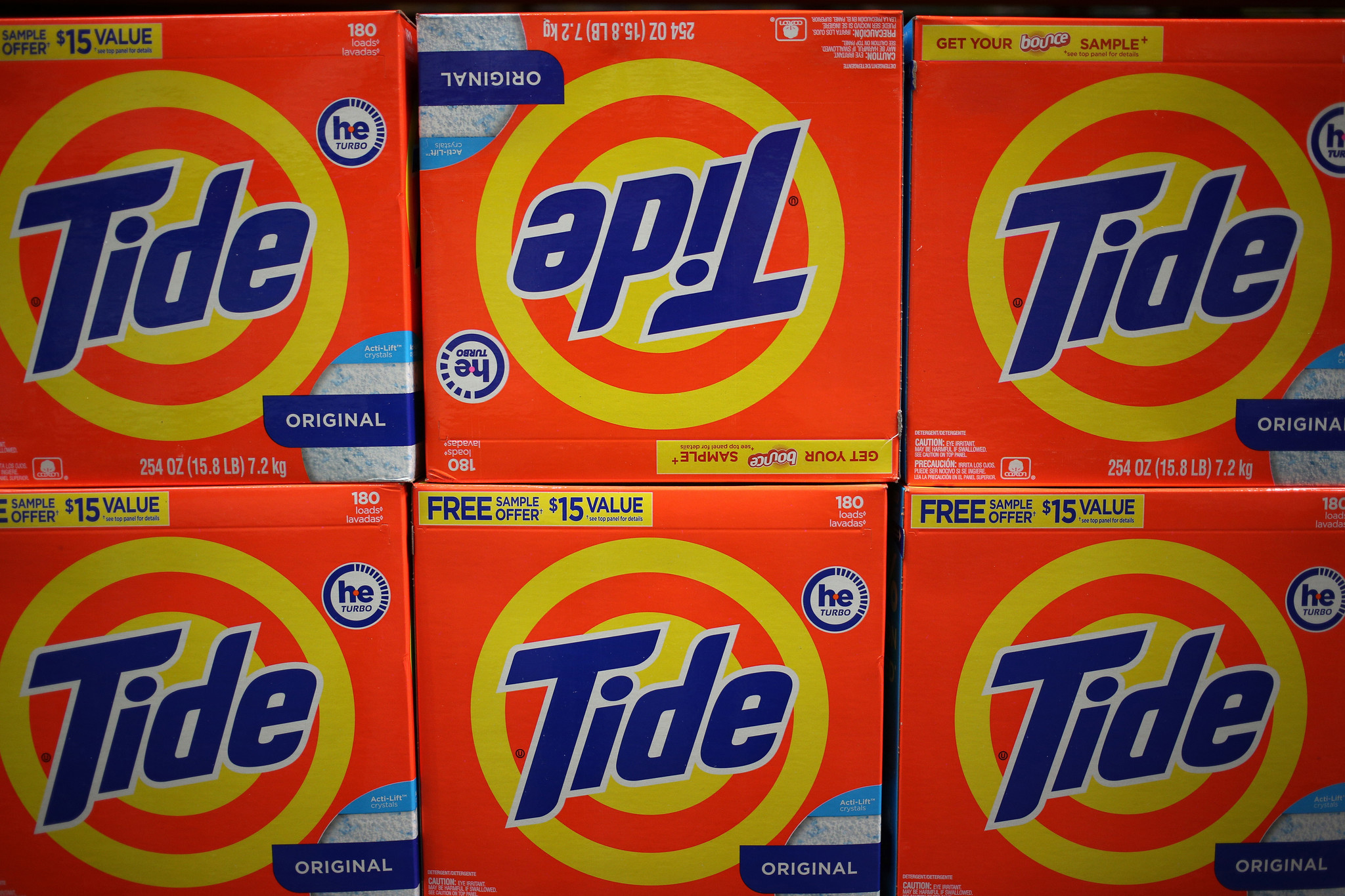 P&G under pressure as eco-friendly products surge