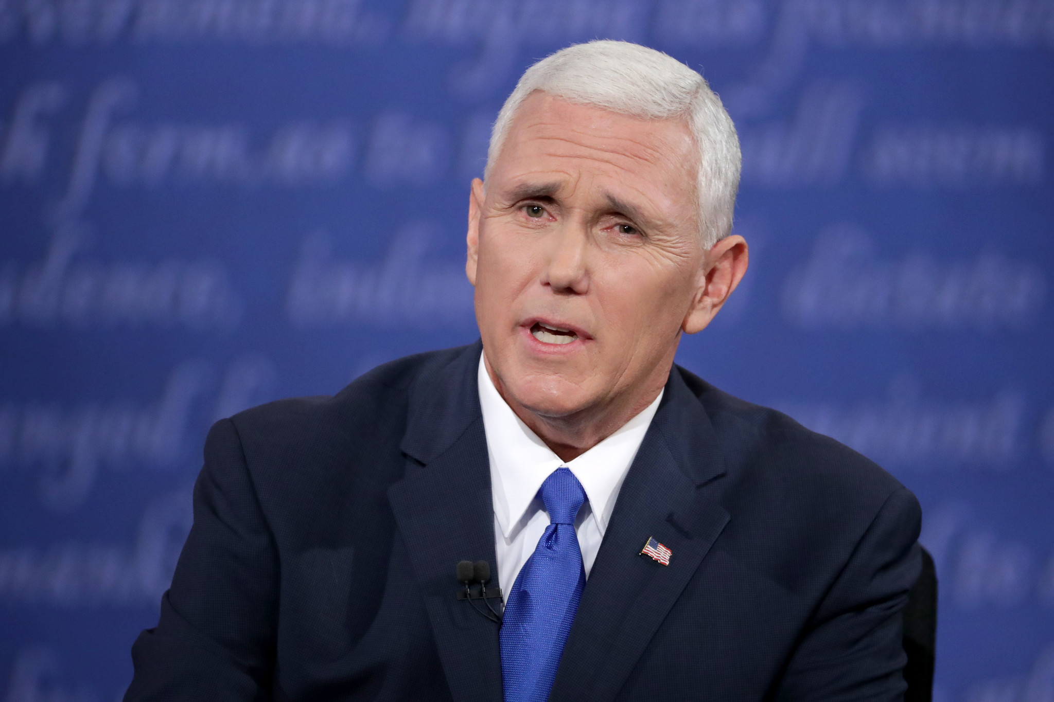 Pence fights — and lies — to keep the stench of Trump off ...