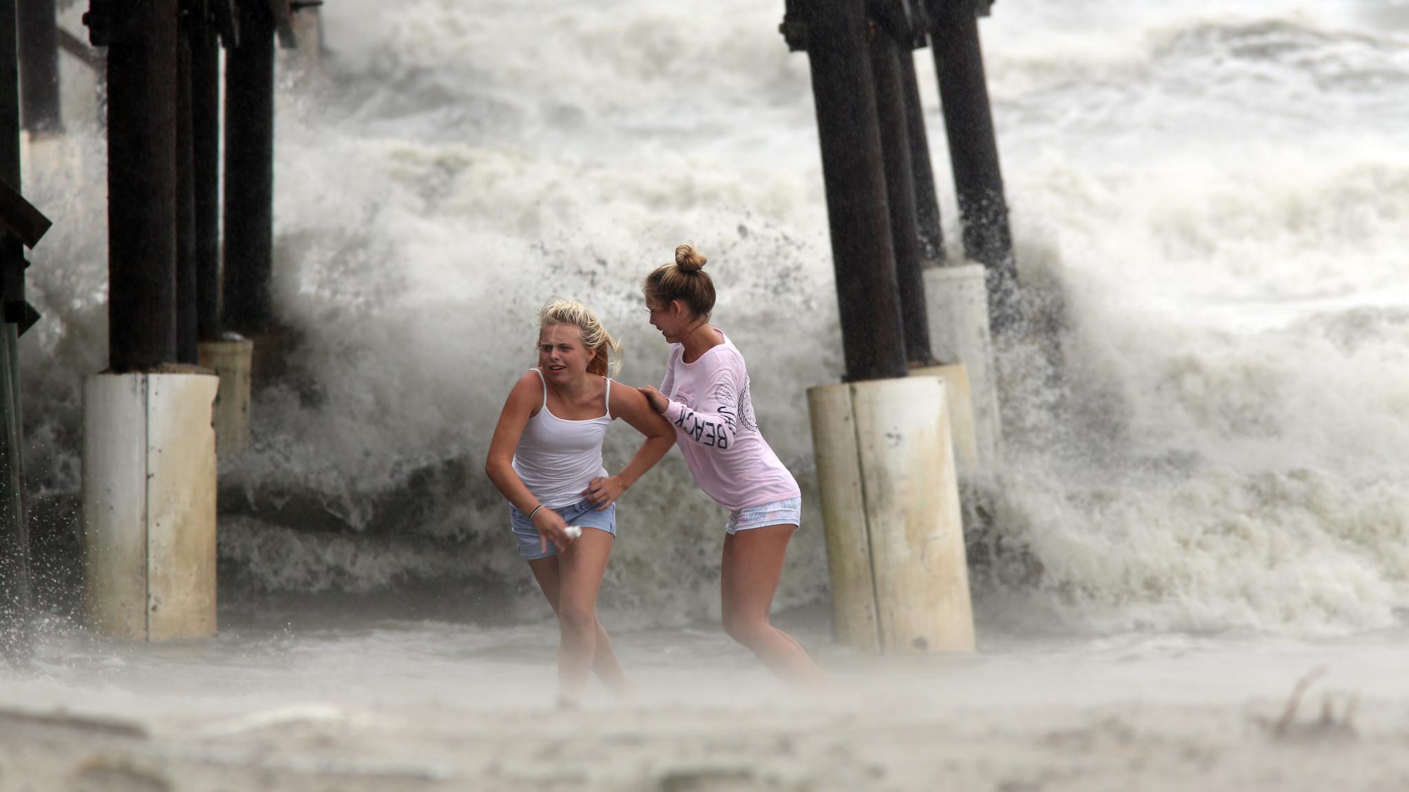 Did Climate Change Bring Us Hurricane Matthew Hard To Say