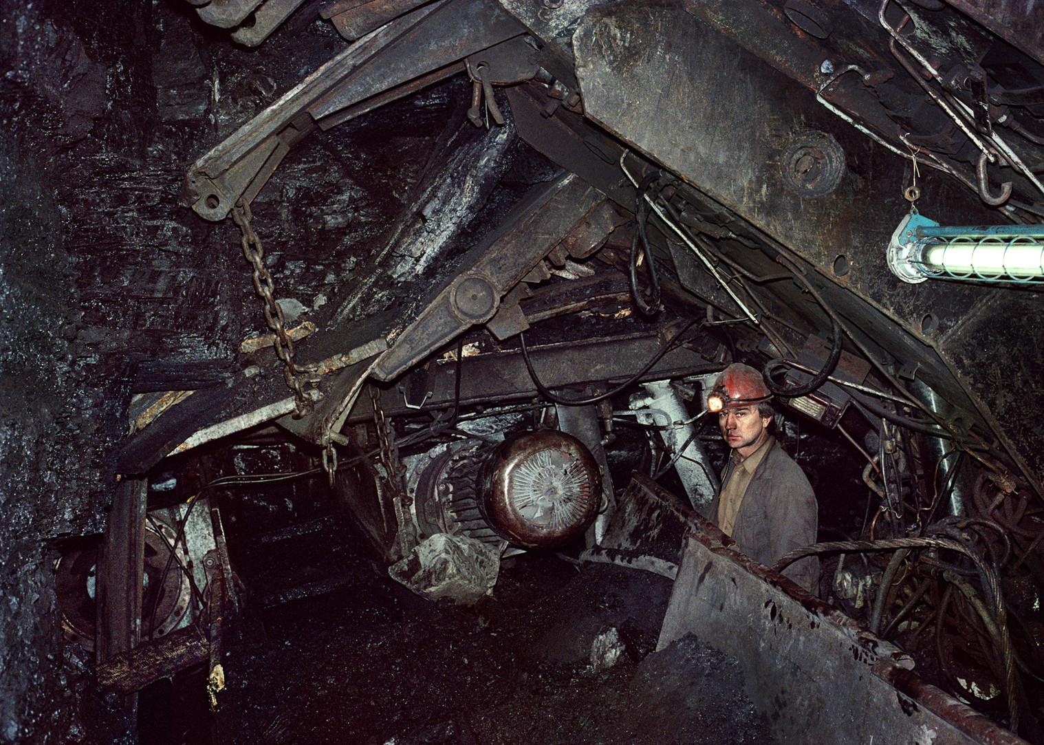 """Kemerovo, Soviet Russia, March 16, 1991,"" from Keizo Kitajima's Soviet Union photographs at Little Big Man Gallery."