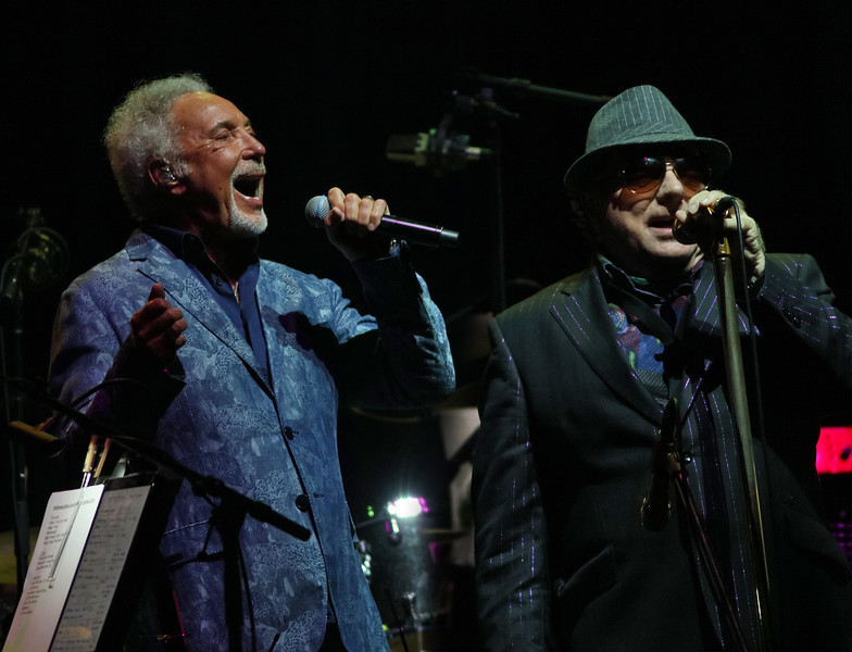 Van Morrison and Tom Jones team for a wild night at the ...