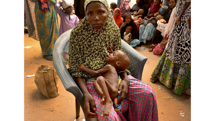 Hadiza Adamu wandered Maiduguri, Nigeria, for days seeking help for her 1-year-old son, Hassan, who was growing weaker every day.