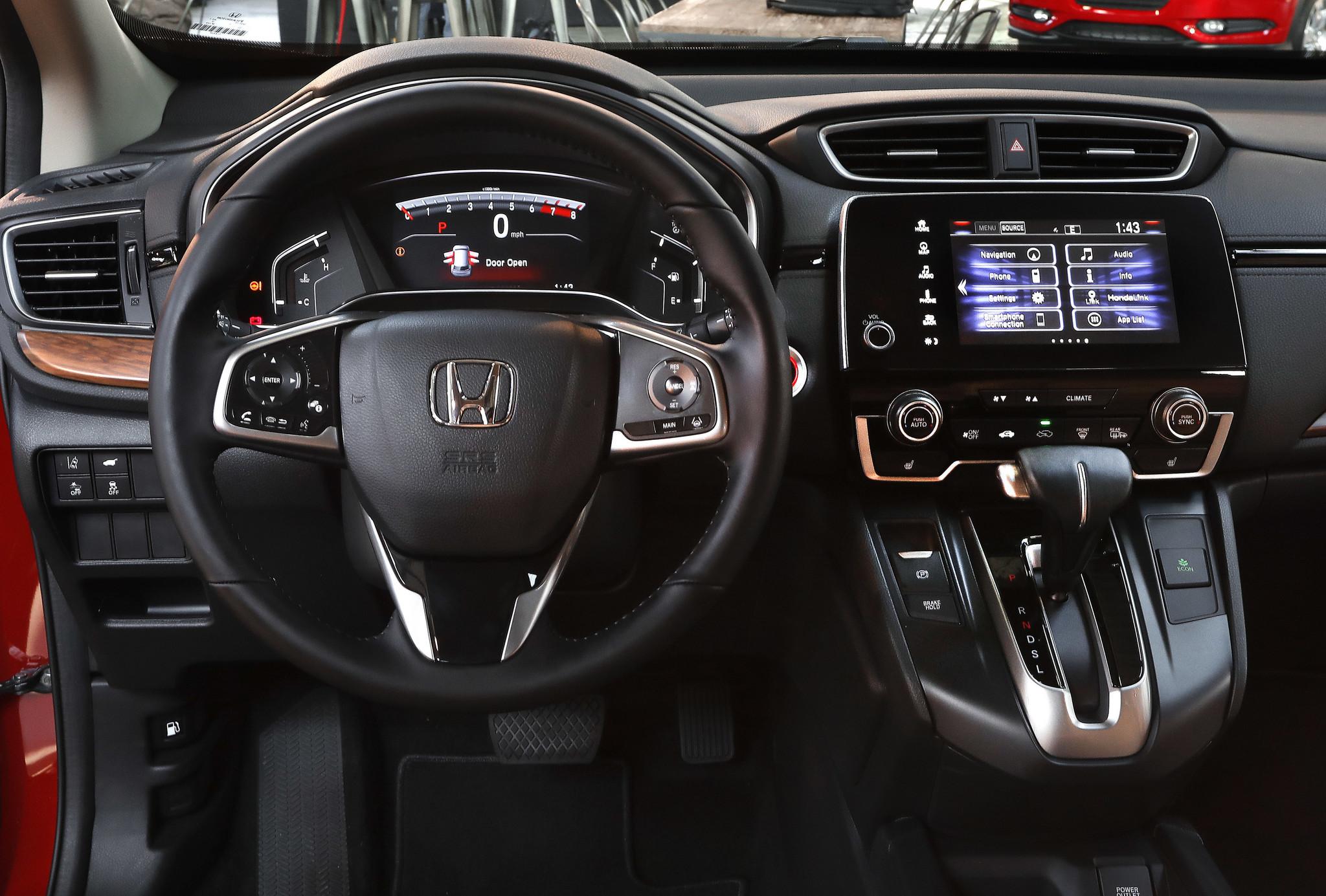 Honda Reveals First Turbocharged 2017 CR V At A Produce Market