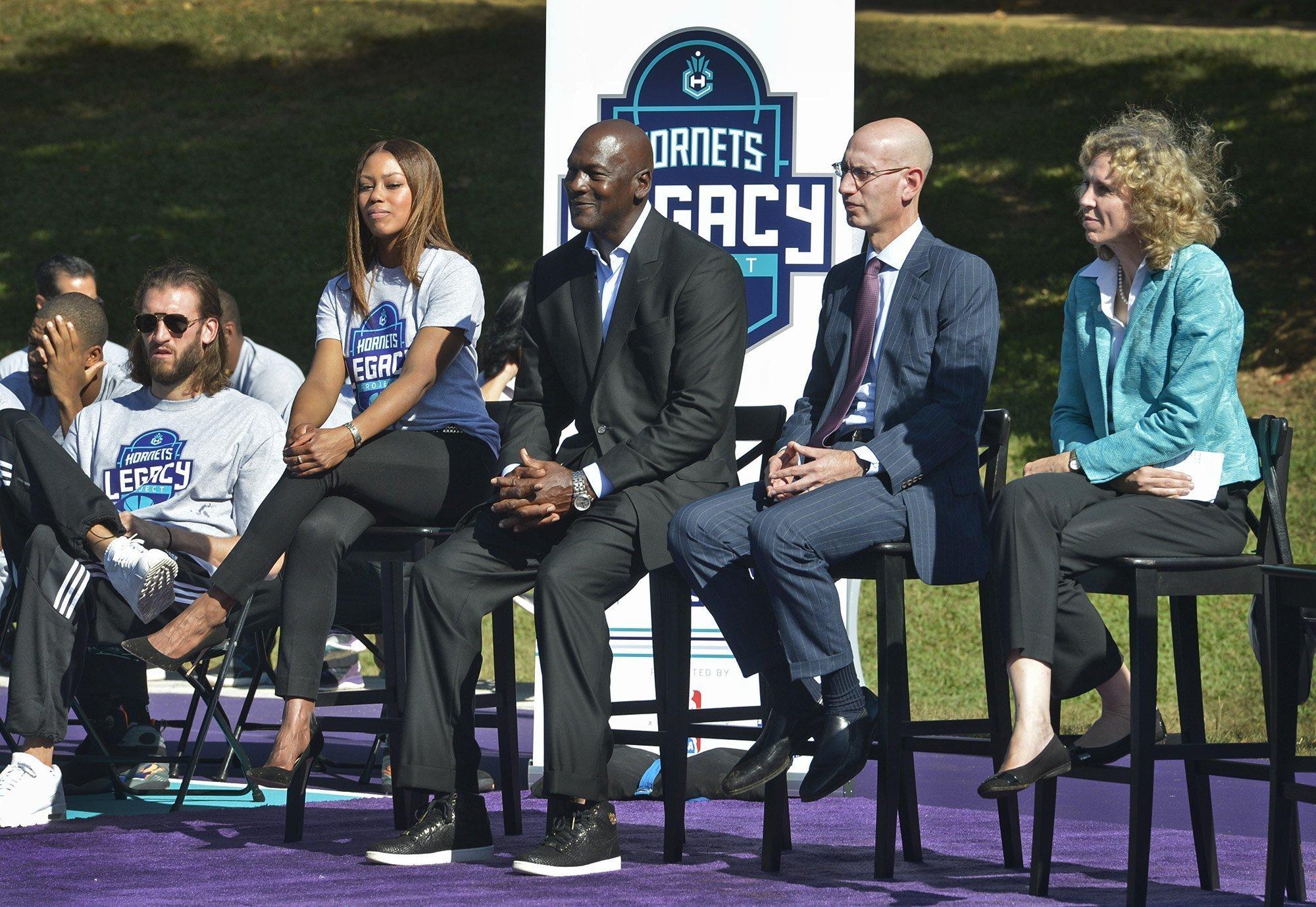 new product da548 e3122 Adam Silver says having NBA All-Star Game in Charlotte in 2019  a priority   - Chicago Tribune