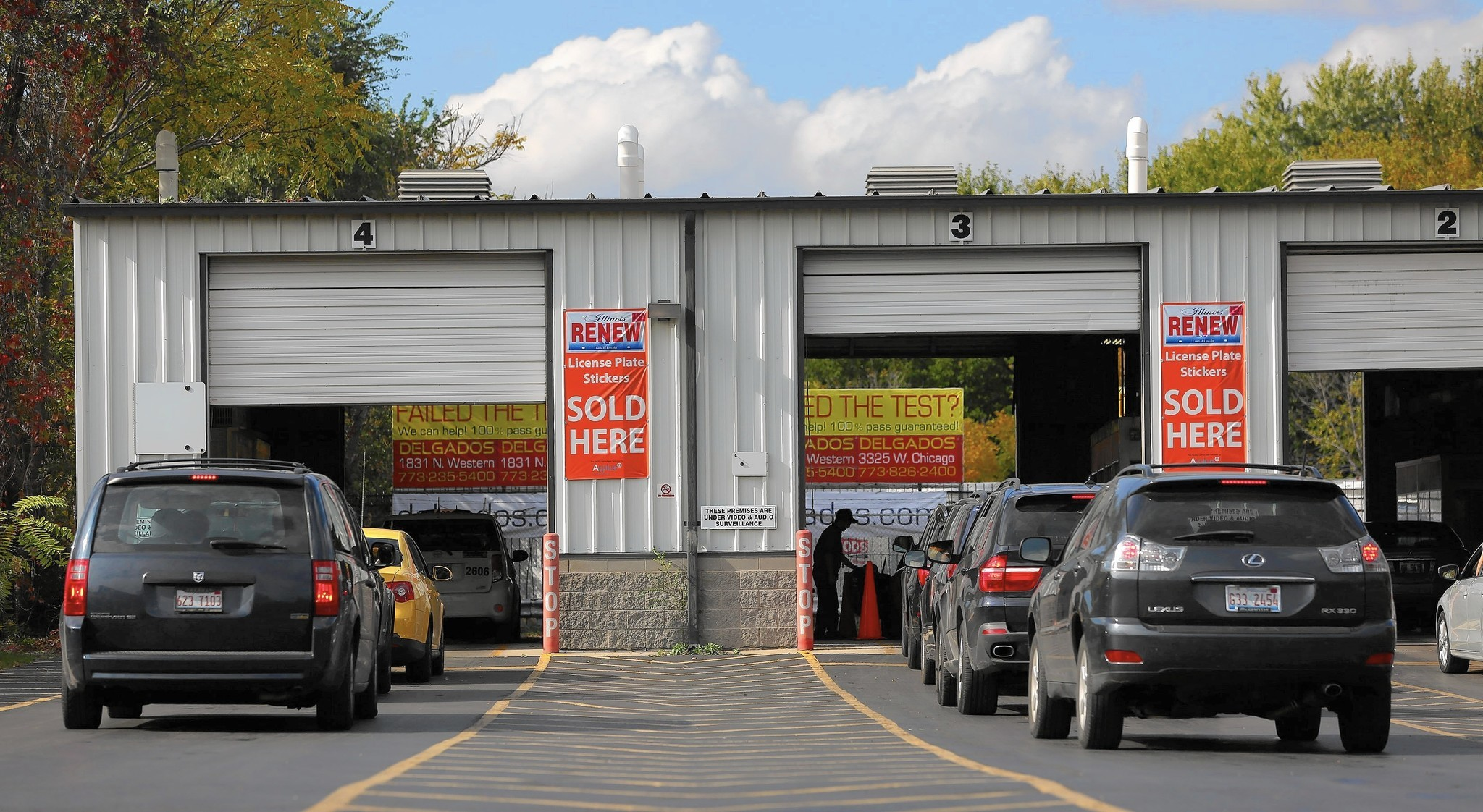 Chicago Will Have No Vehicle Emissions Test Facilities After State Closures Tribune
