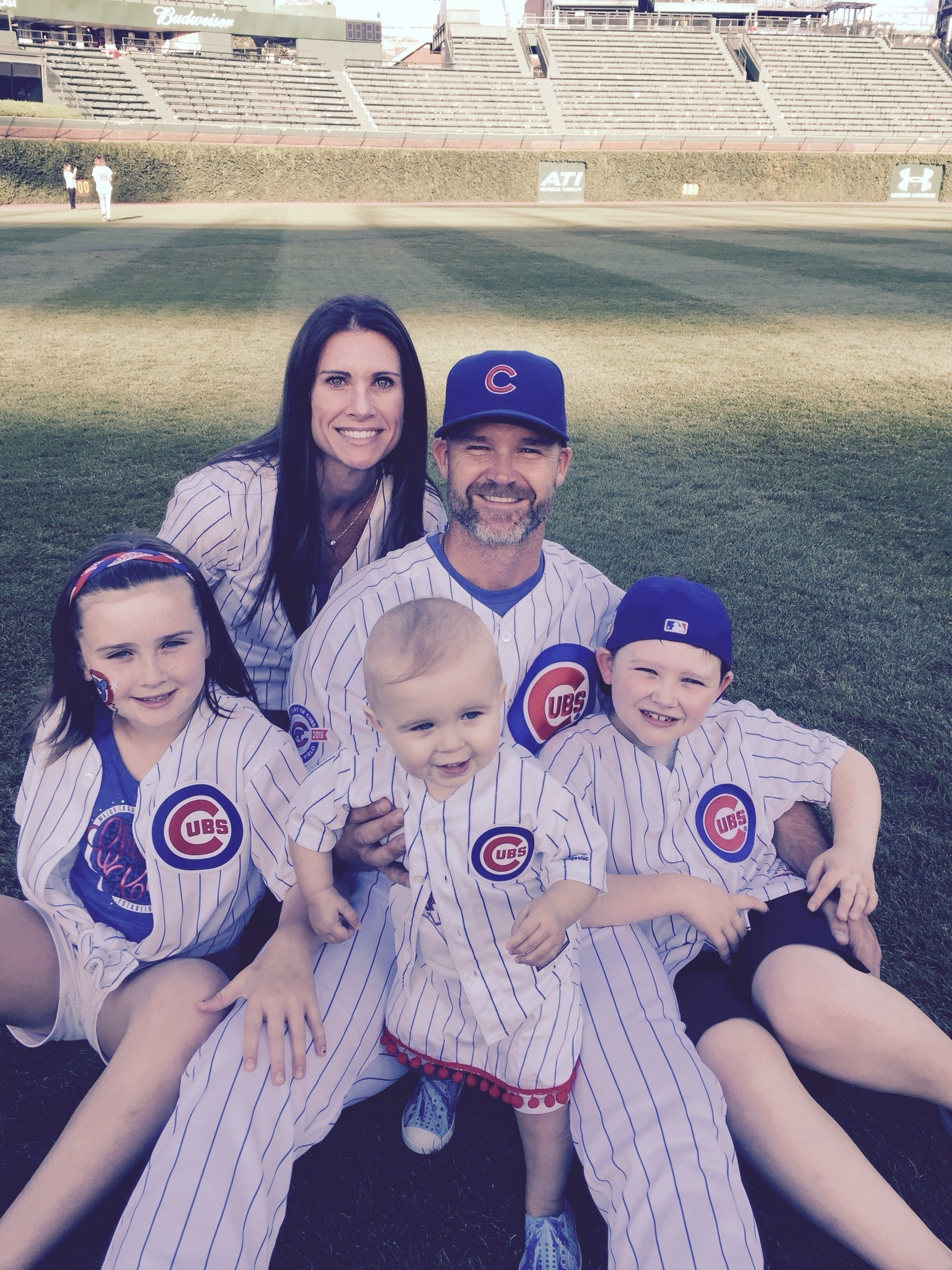 for cubs catcher david ross its all about family
