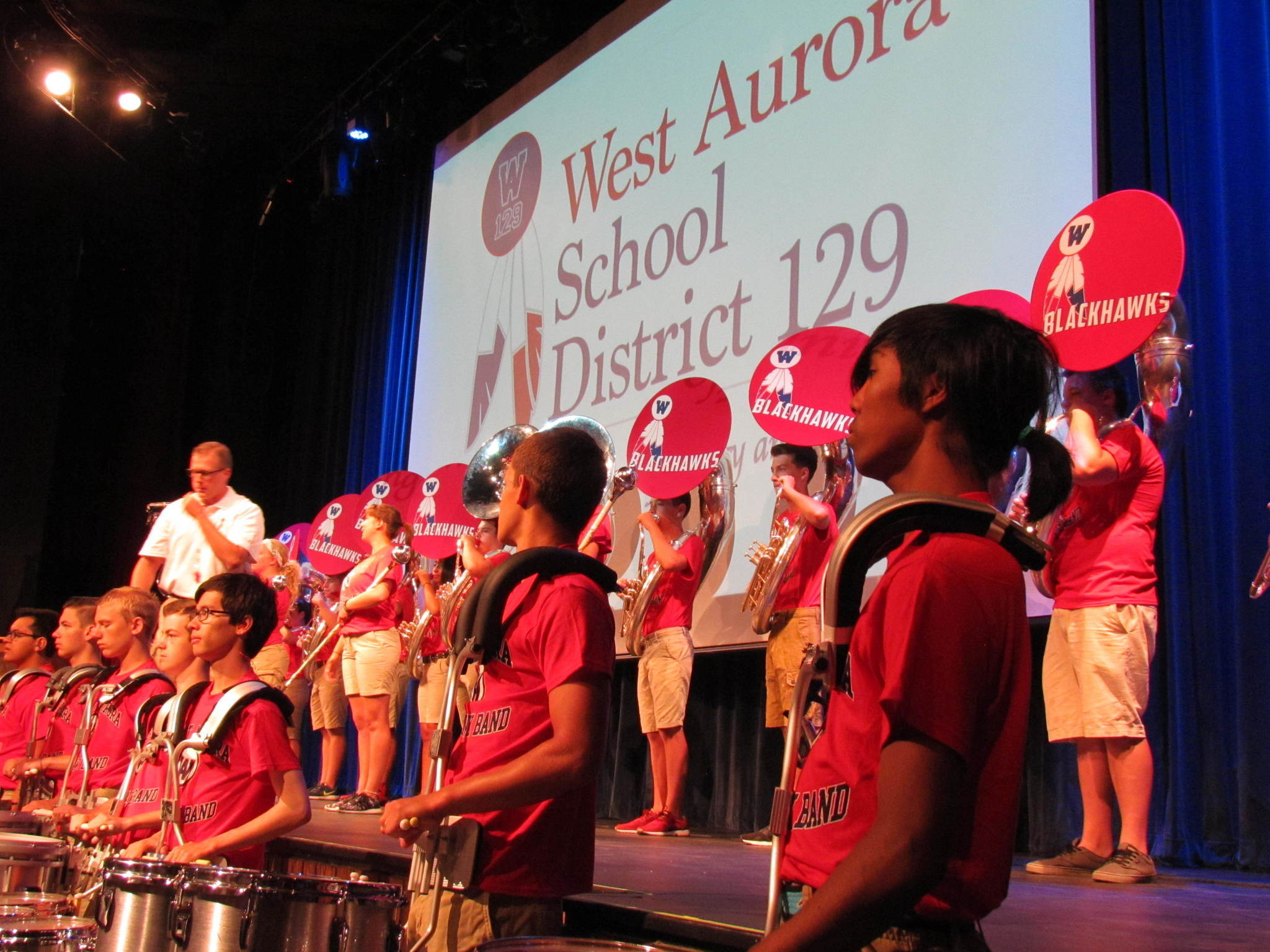 West Aurora Marching Band Will Get New Uniforms Aurora Beacon News