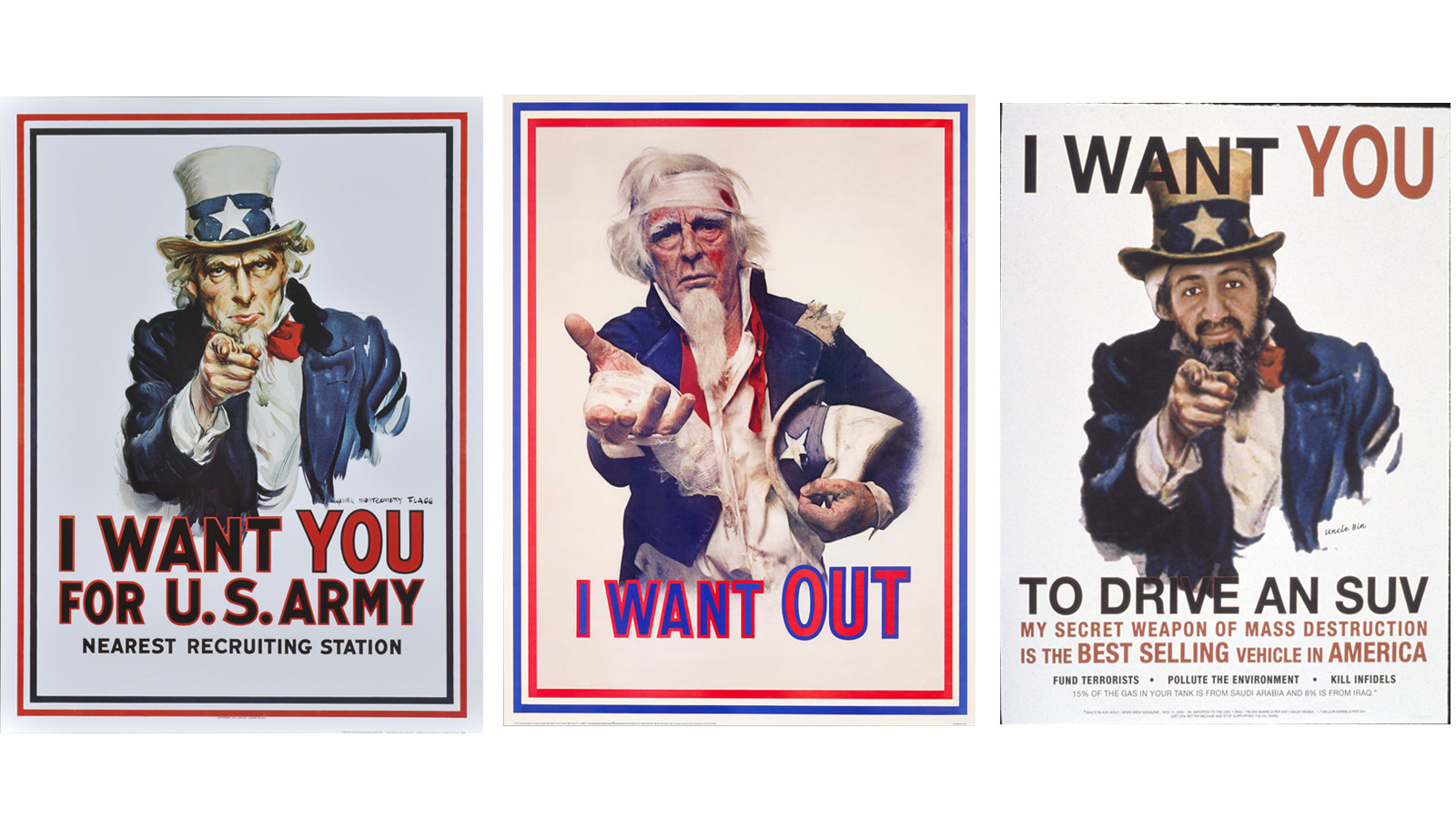 Historical memes riffs on the u s armys i want you 1917 recruiting poster