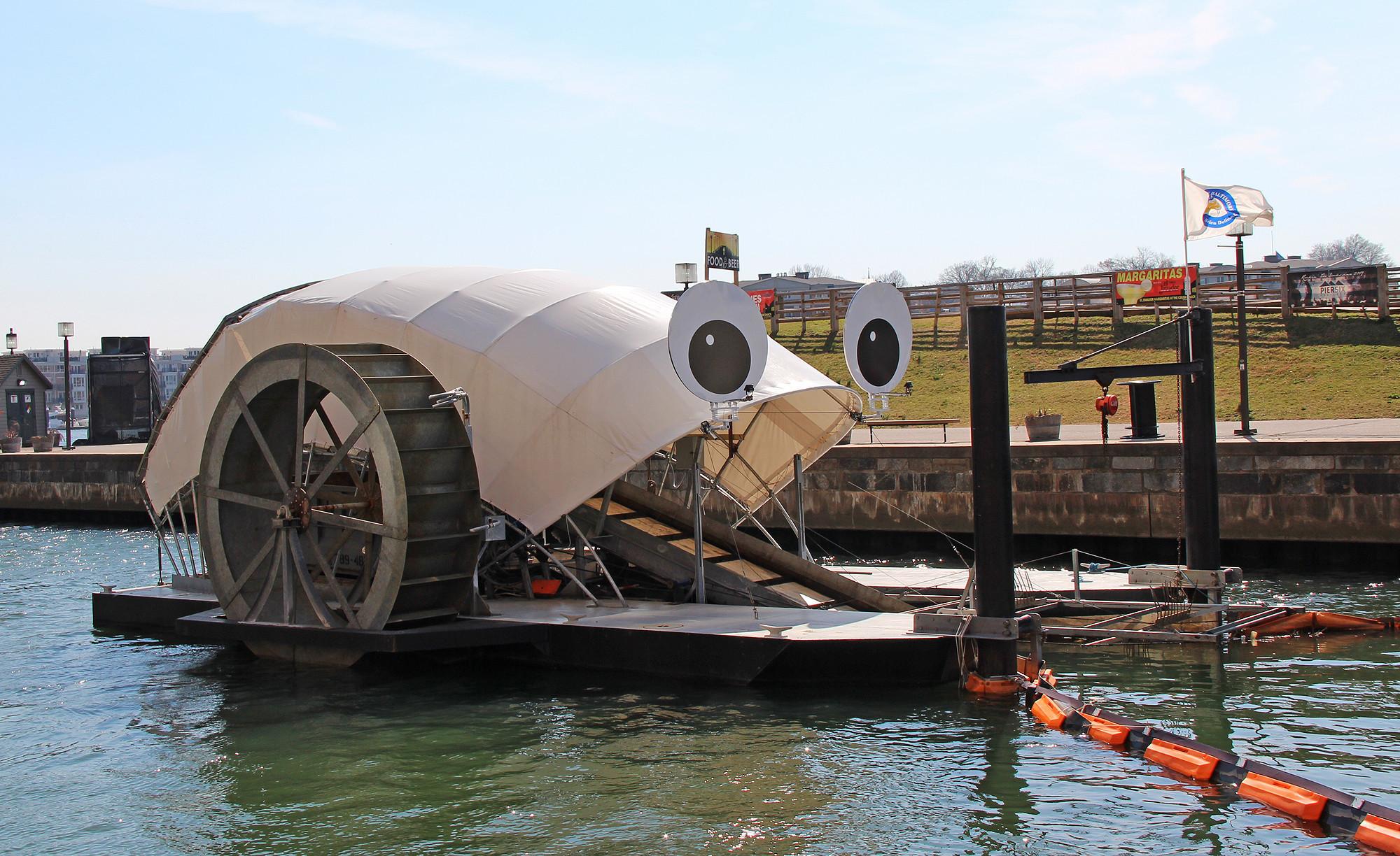 Rank Record Mr Trash Wheel Gathers 1 Millionth Pound Of