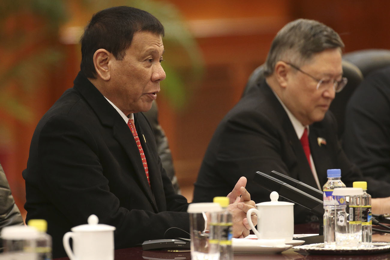 Philippines president: 'I announce my separation from the ...