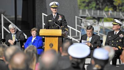 Naval Academy breaks ground on Hopper Hall