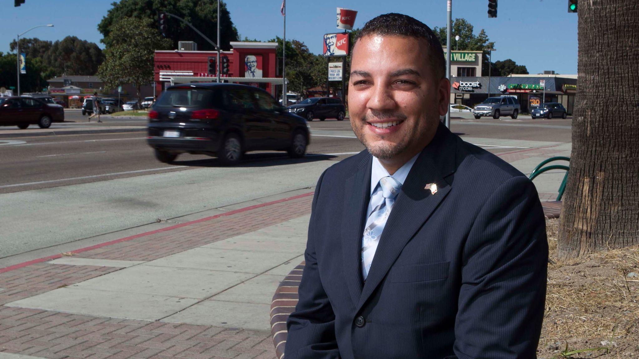 Jason Wells is head of the San Ysidro Chamber of Commerce.