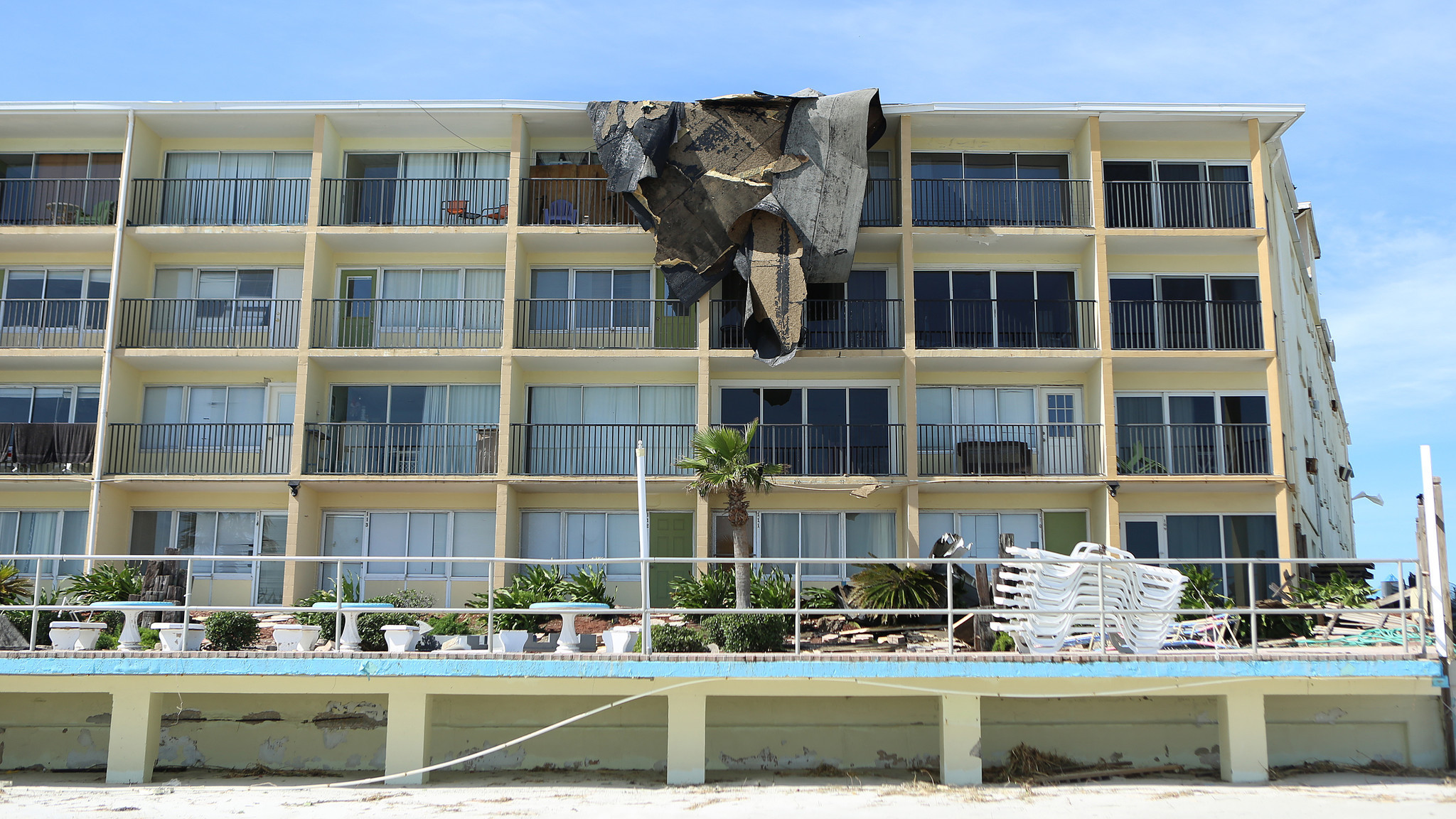 Daytona Beach Hotels Struggle After Hurricane Matthew