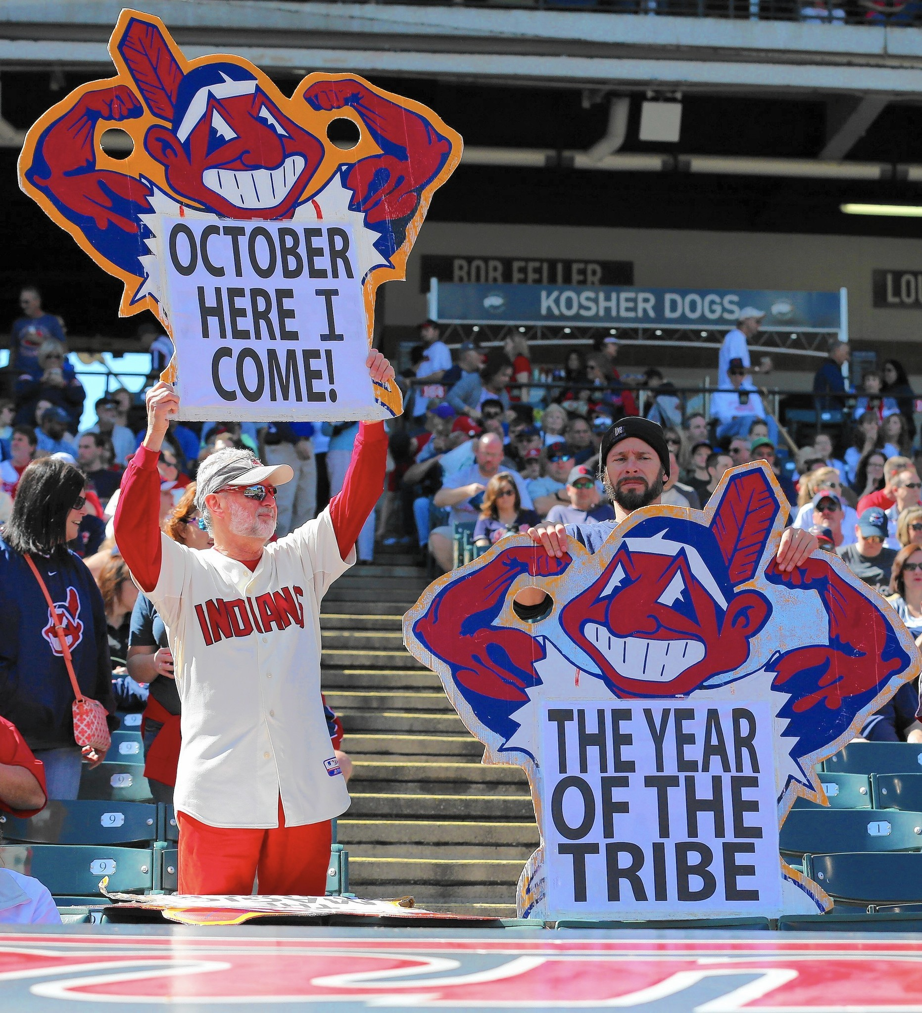 Don 39 t be greedy chicago the cleveland indians deserve more fans chicago tribune - Cleveland indians pictures ...