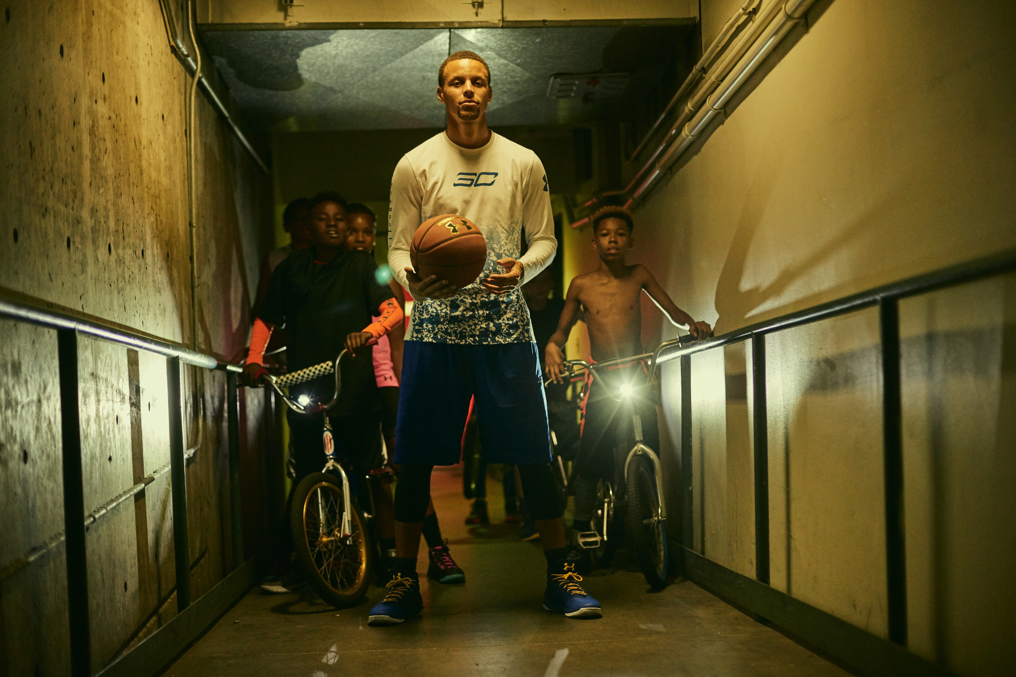 9d115fe8647 New Under Armour spot highlights Stephen Curry s challenge - Baltimore Sun