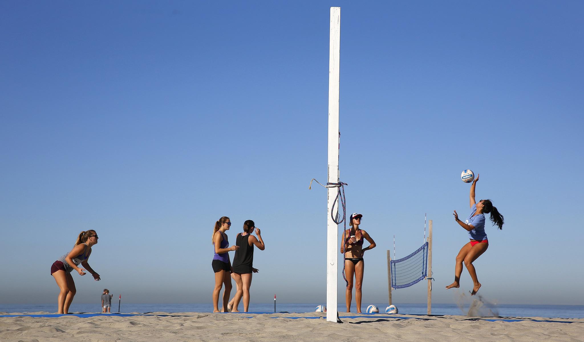 Beach Volleyball San Go The Best Beaches In World
