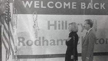 Hillary Clinton Celebrated 50th Birthday In Park Ridge 19 Years Ago