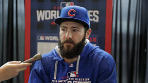 784103655 Cubs undecided on Jake Arrieta s catcher for Game 2 · Chicago Cubs