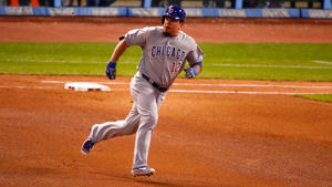 a9e3b80d3 Kyle Schwarber does bang-up job in return with double off wall · Chicago  Cubs