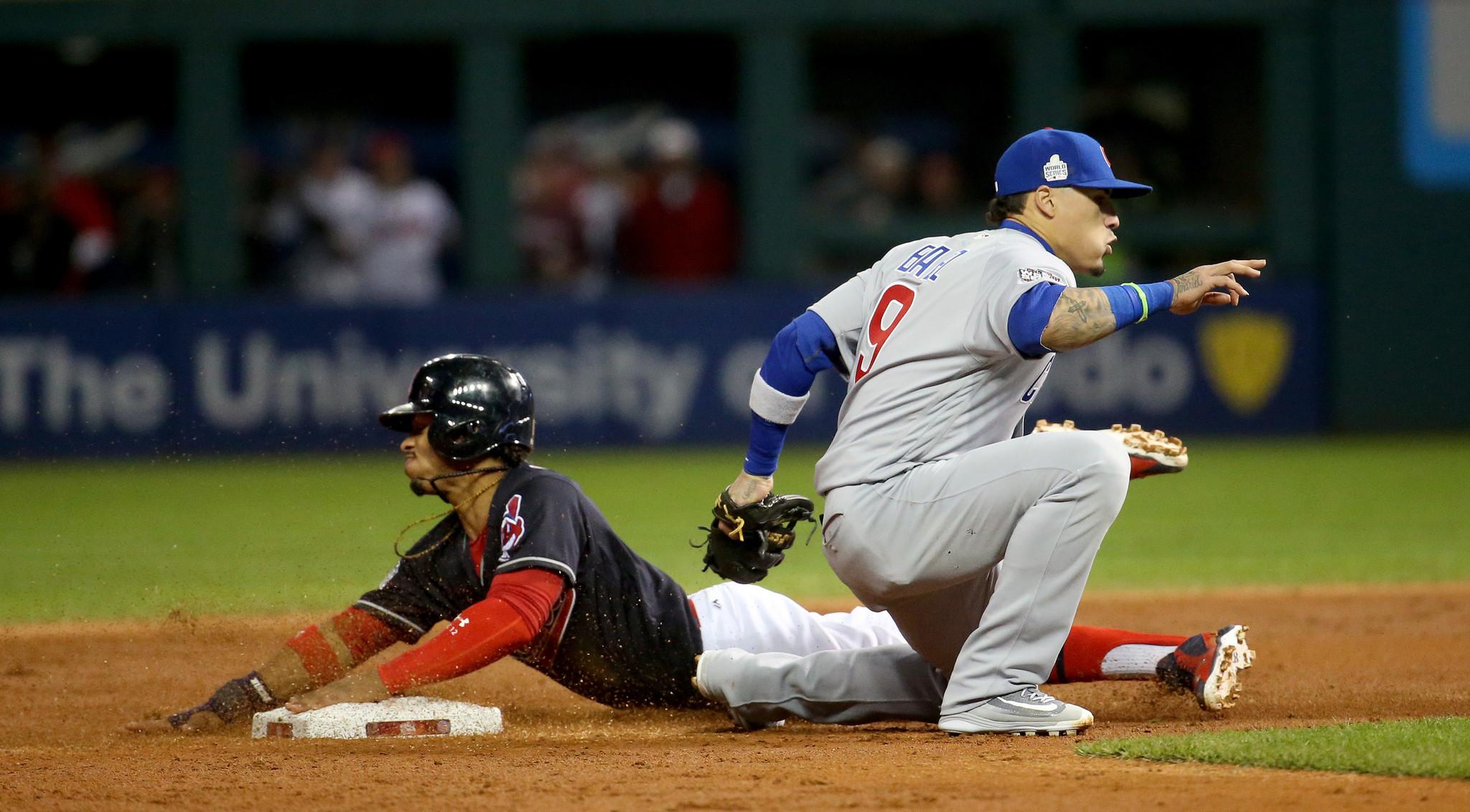 Cubs' Javier Baez, Indians' Francisco Lindor accustomed to big stage - Chicago Tribune