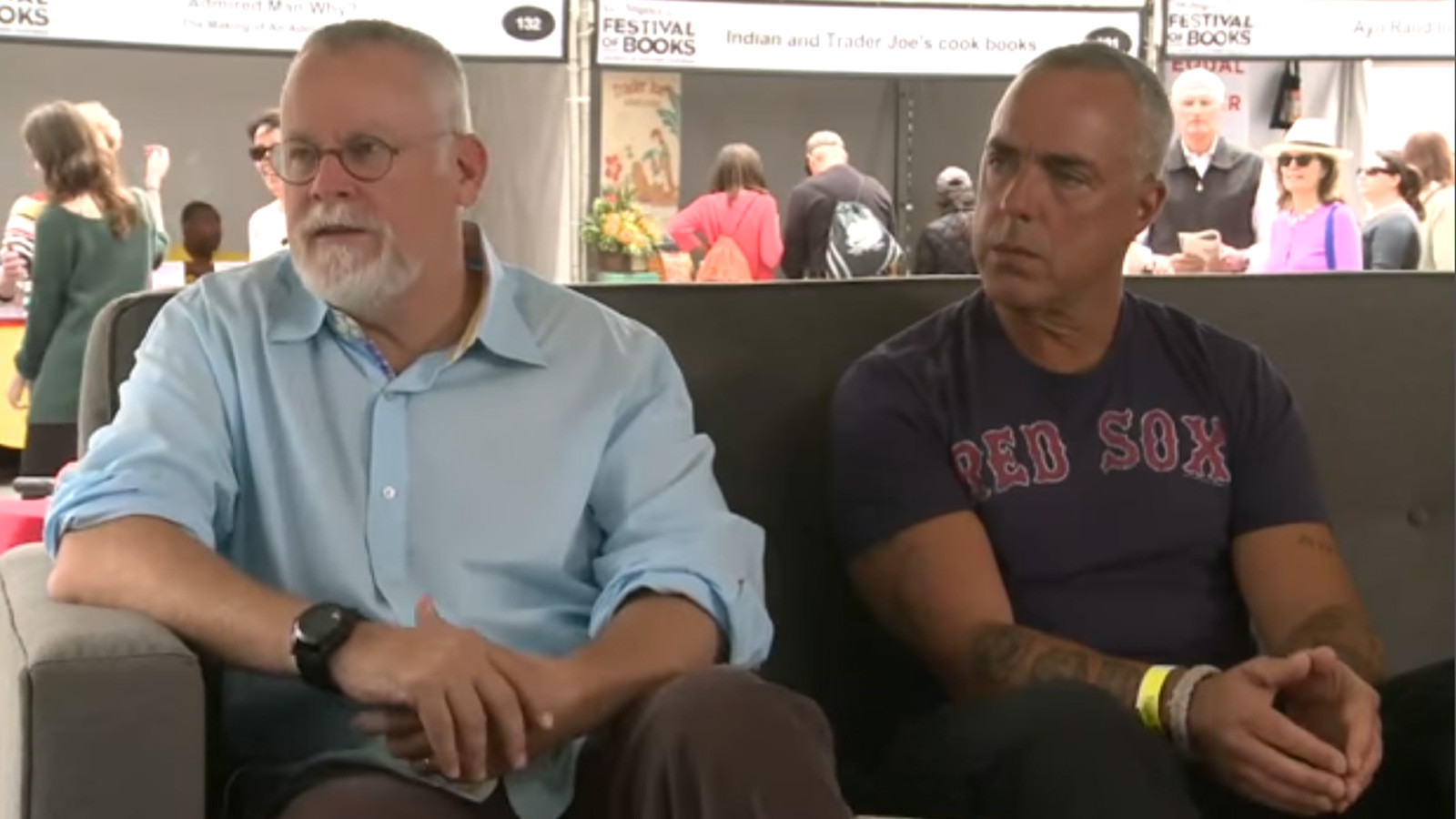 Michael Connelly And Titus Welliver La Times