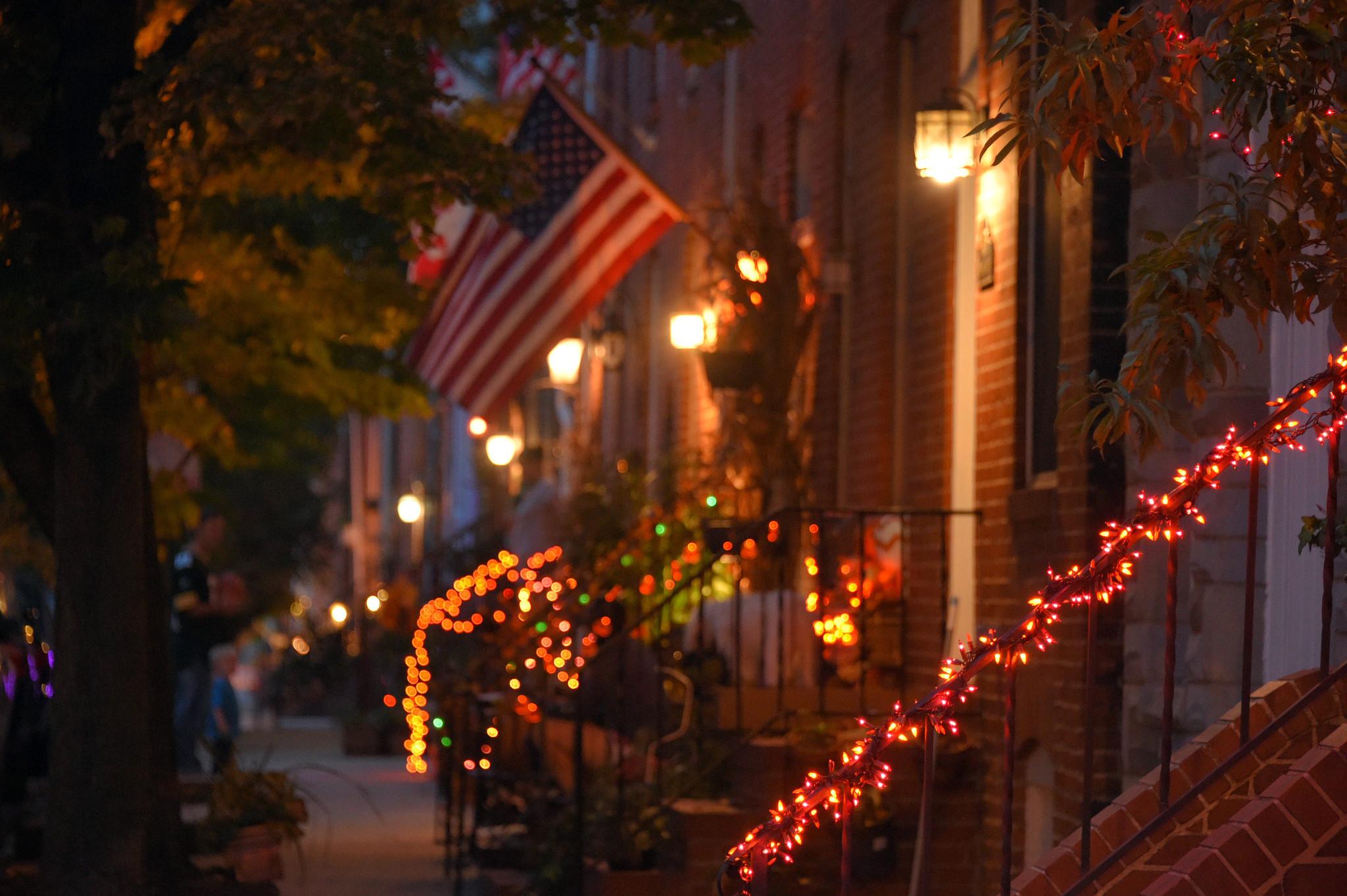 Baltimore Neighborhoods Take Pride In Halloween Spirit