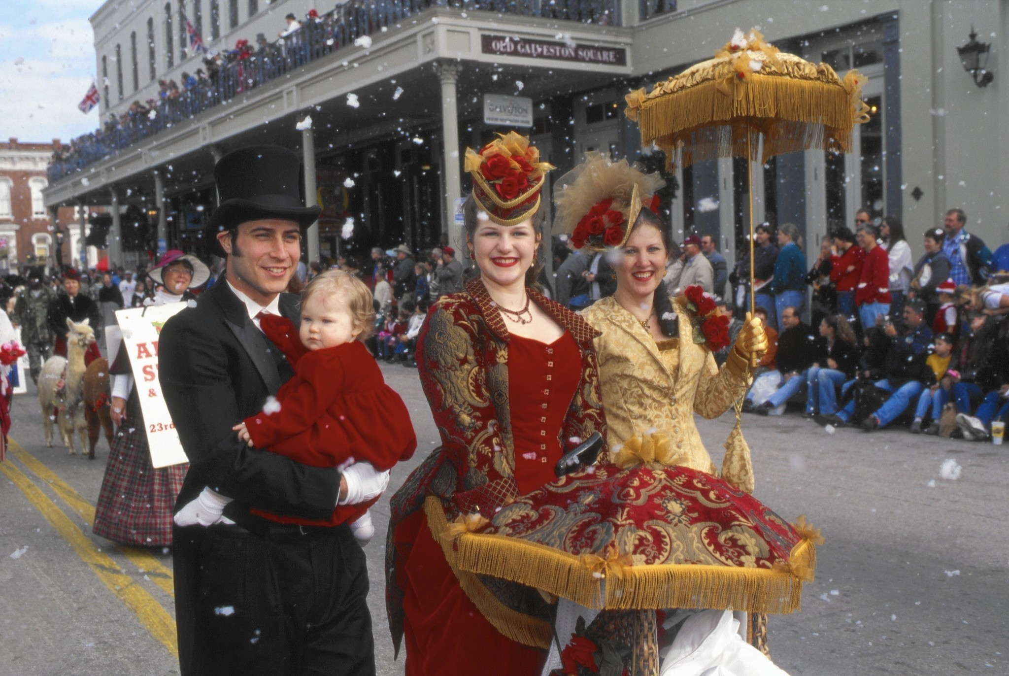 Galveston Texas Goes Victorian With Dickens On The
