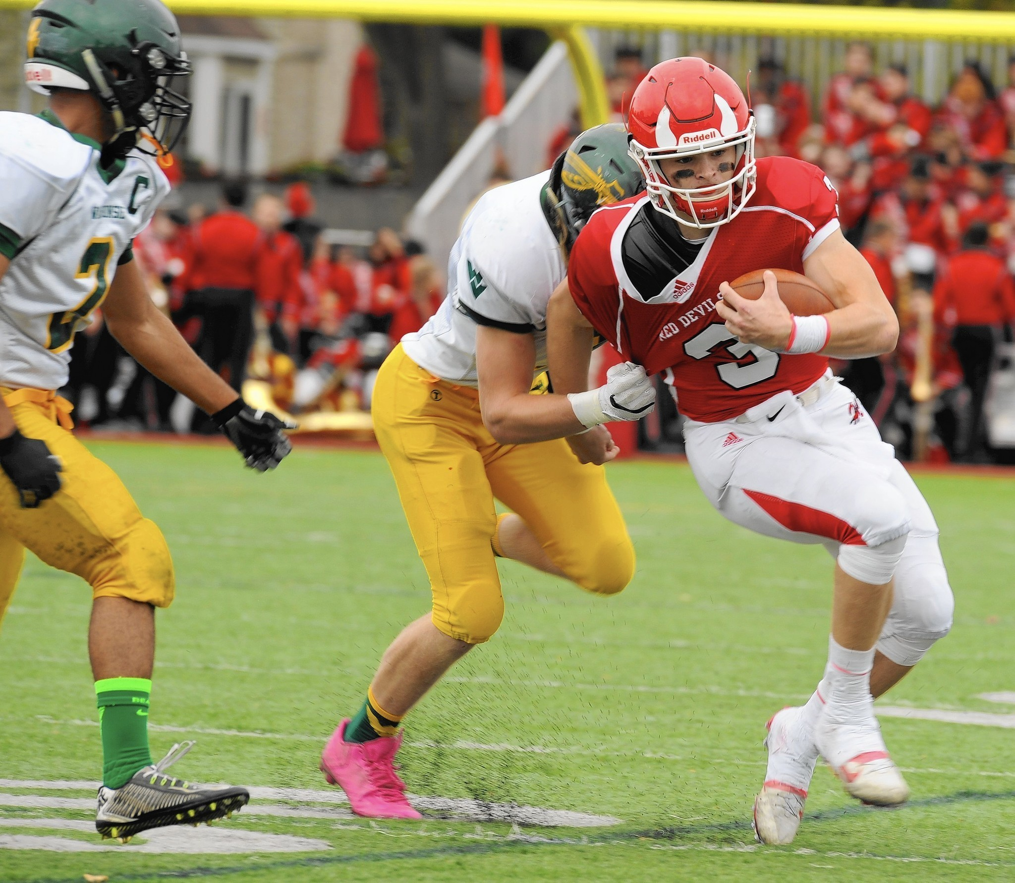 Waubonsie Valley Hands Hinsdale Central Another Early Playoff Exit