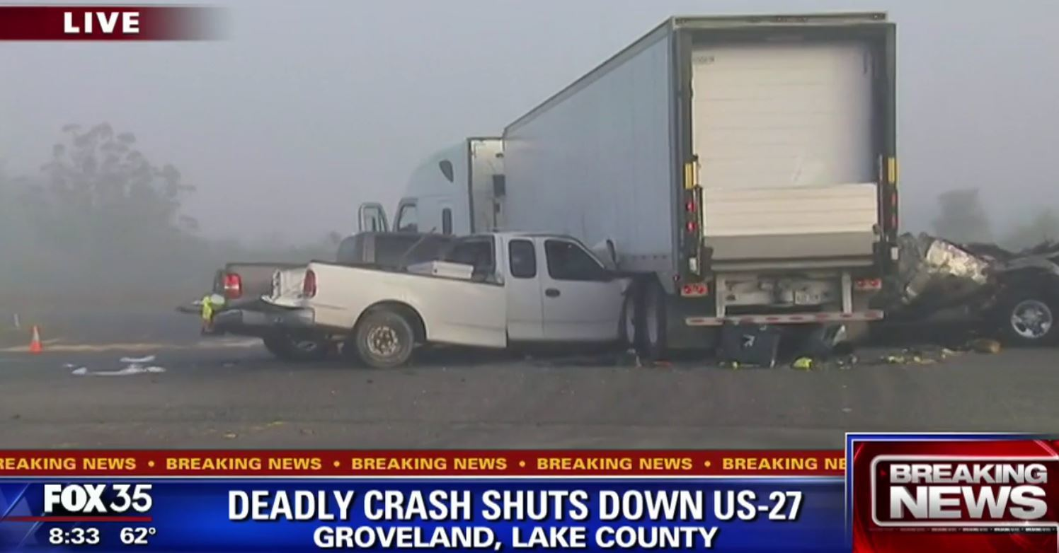 deadly crash on us 27 in lake county - orlando sentinel