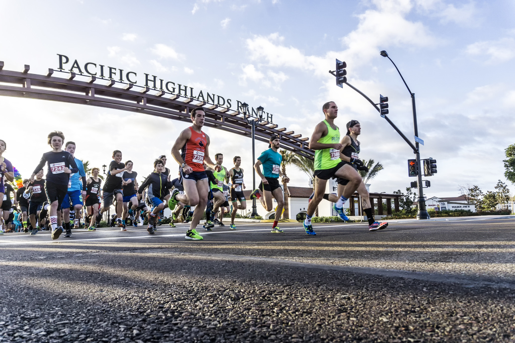Runners take off at the 2015 Carmel Valley 5K.
