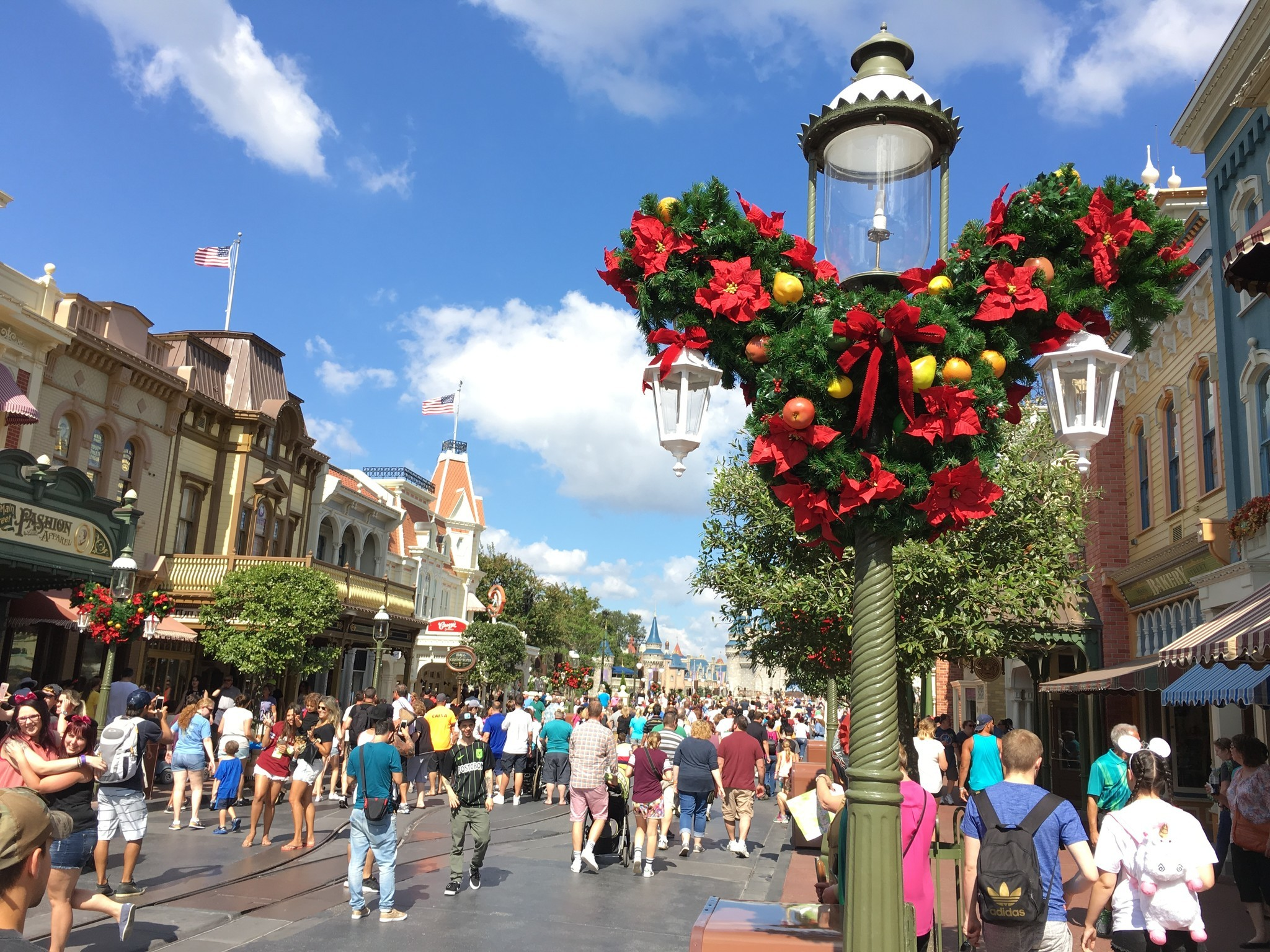 First Look Magic Kingdom Enters Holidays Mode Orlando