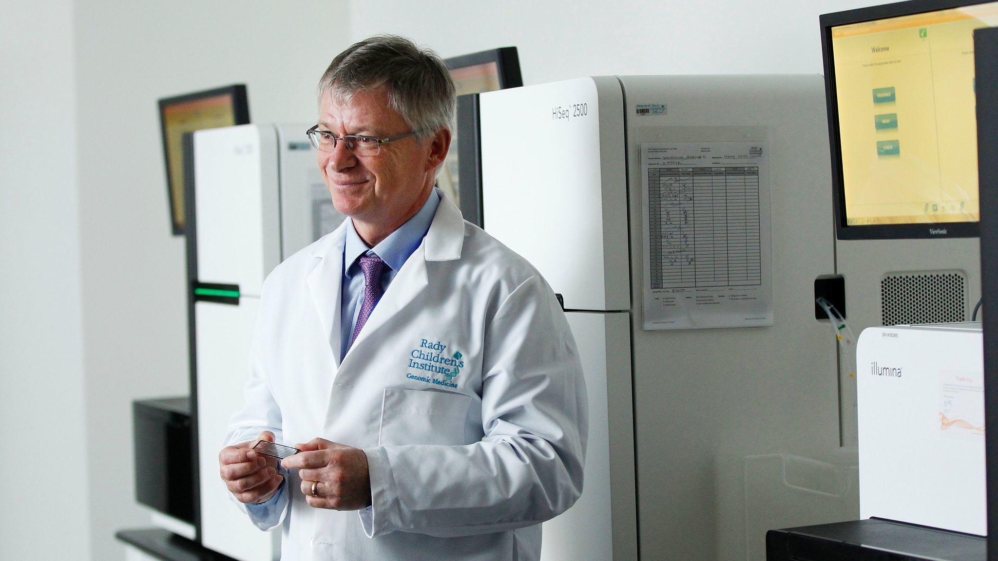 Dr. Stephen Kingsmore, director of the Rady Children's Institute of Genomic Medicine.