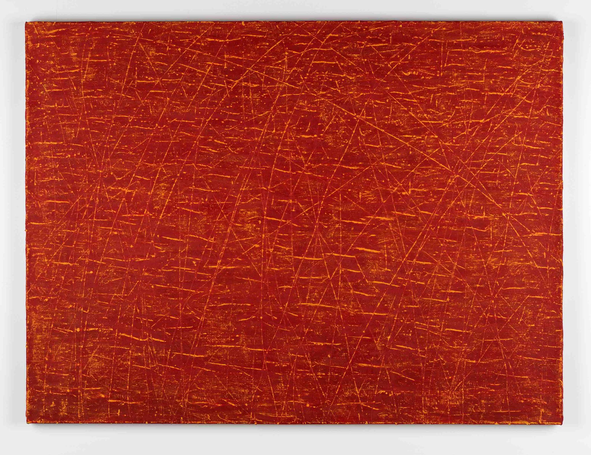 """""""Sparks 5,"""" 2016, by Steven Steinman, on view at Von Lintel in Culver City."""