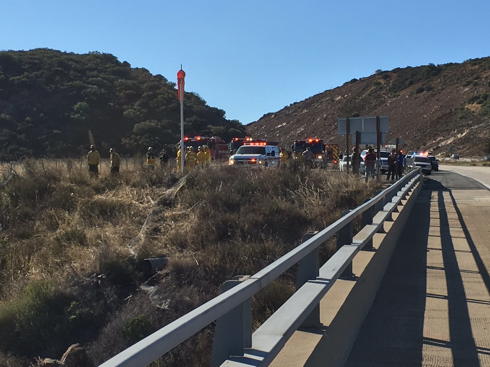 Driver killed after vehicle plunges off Pine Valley bridge ...
